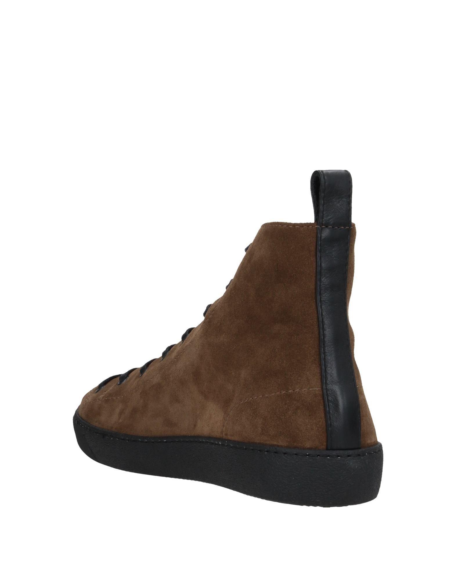 Sneakers abotinadas Kalliste de Cuero de color Marrón para hombre