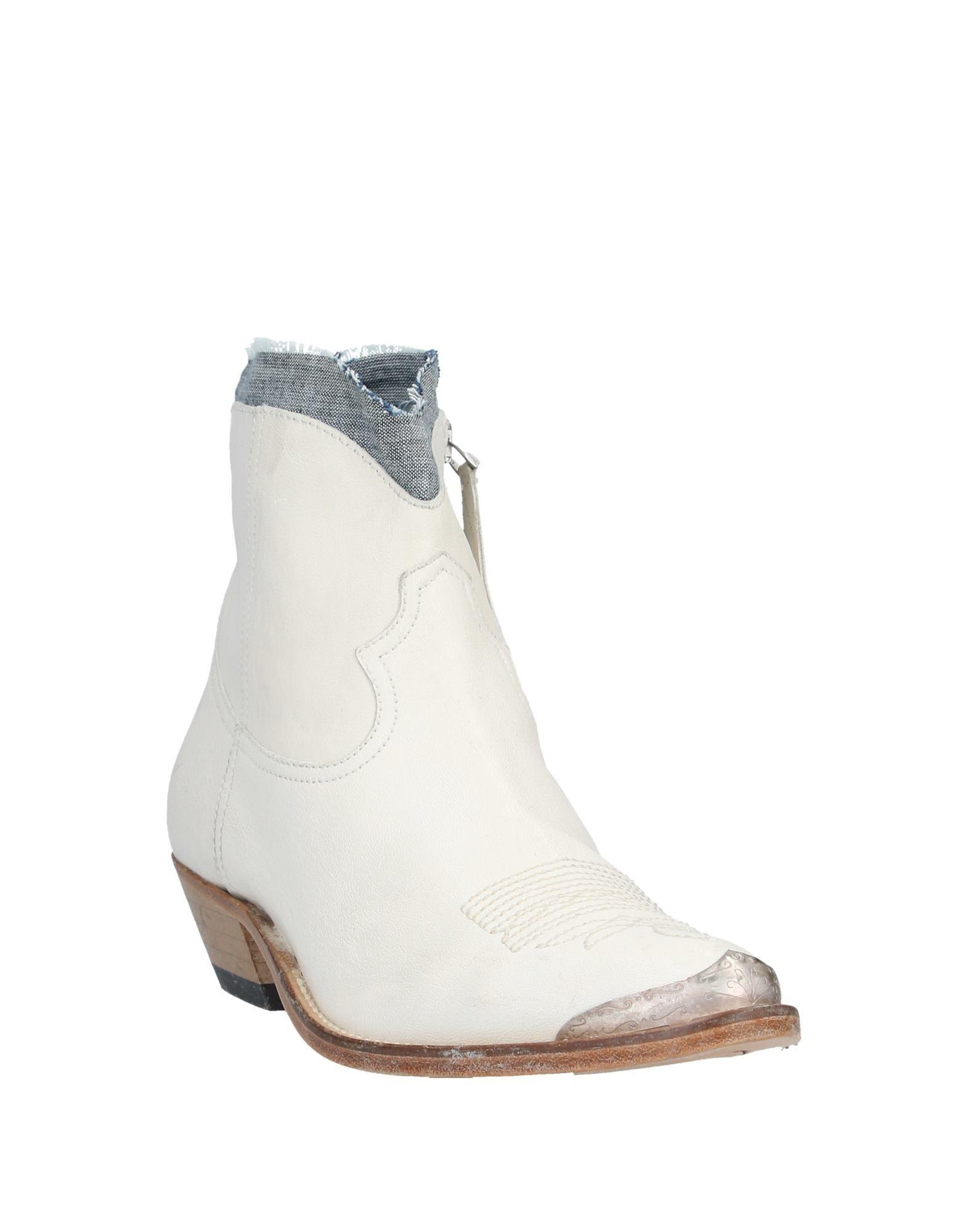 Botines de caña alta Golden Goose Deluxe Brand de Cuero de color Blanco