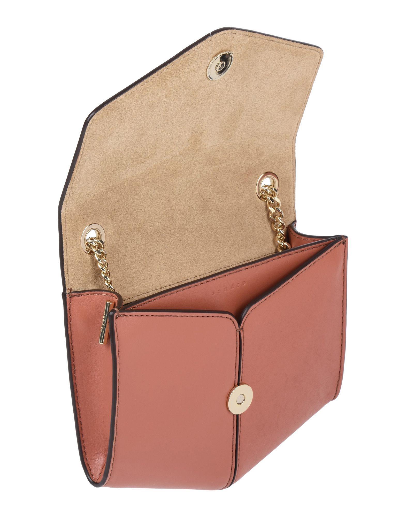 6913130c32ff Lyst - Sandro Cross-body Bag in Pink