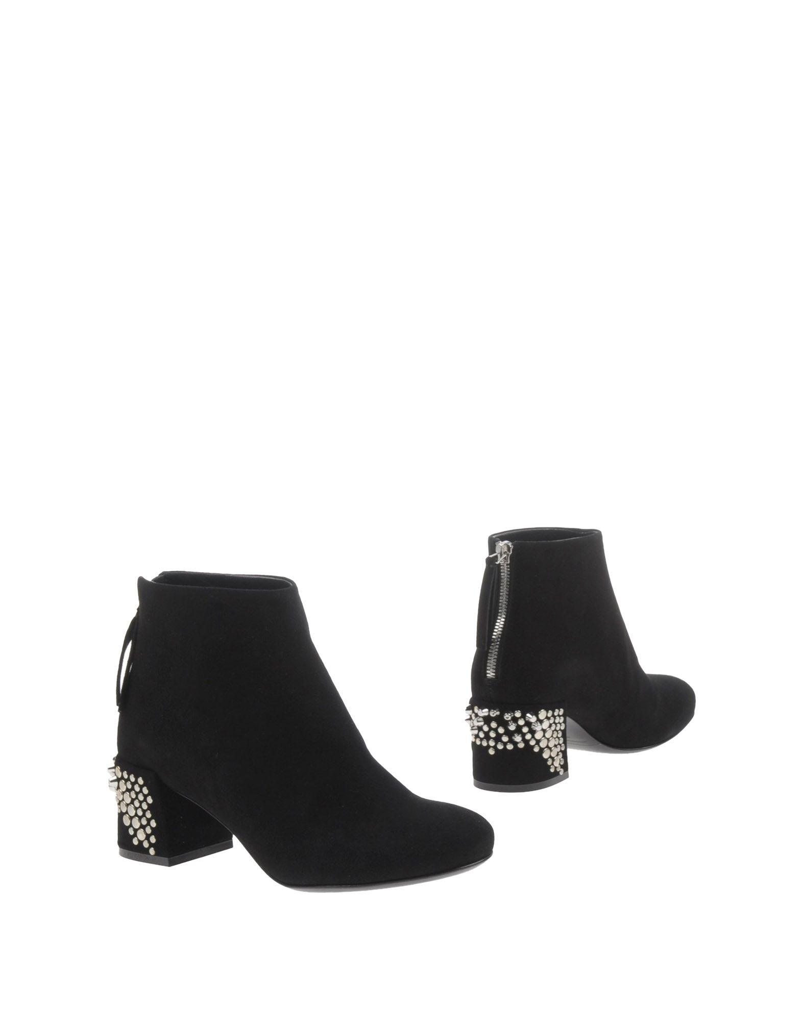 McQ Alexander McQueen EDDY BOOT - Ankle boots - black/white 6O2WiR