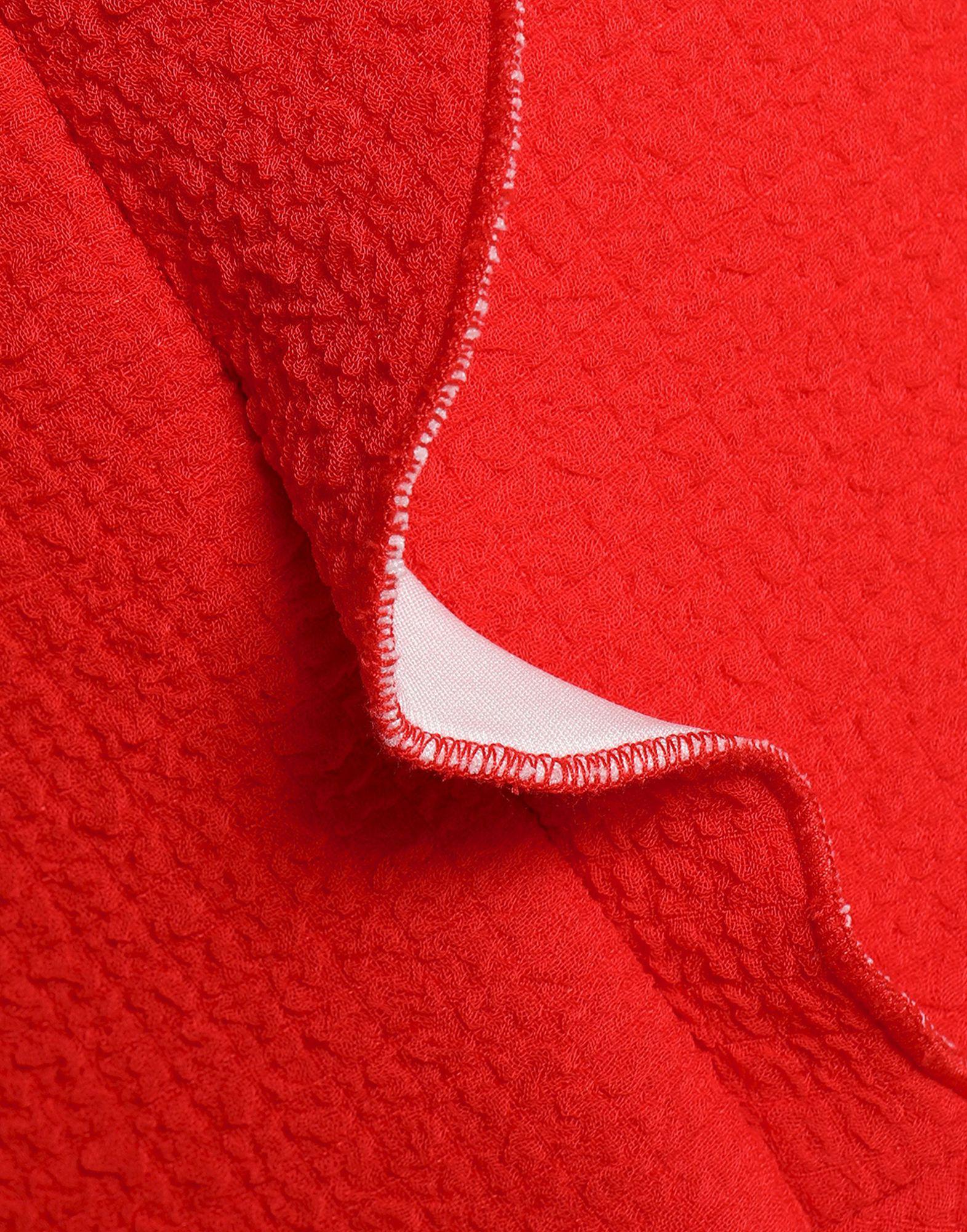 Vestido por la rodilla Sandro de color Rojo