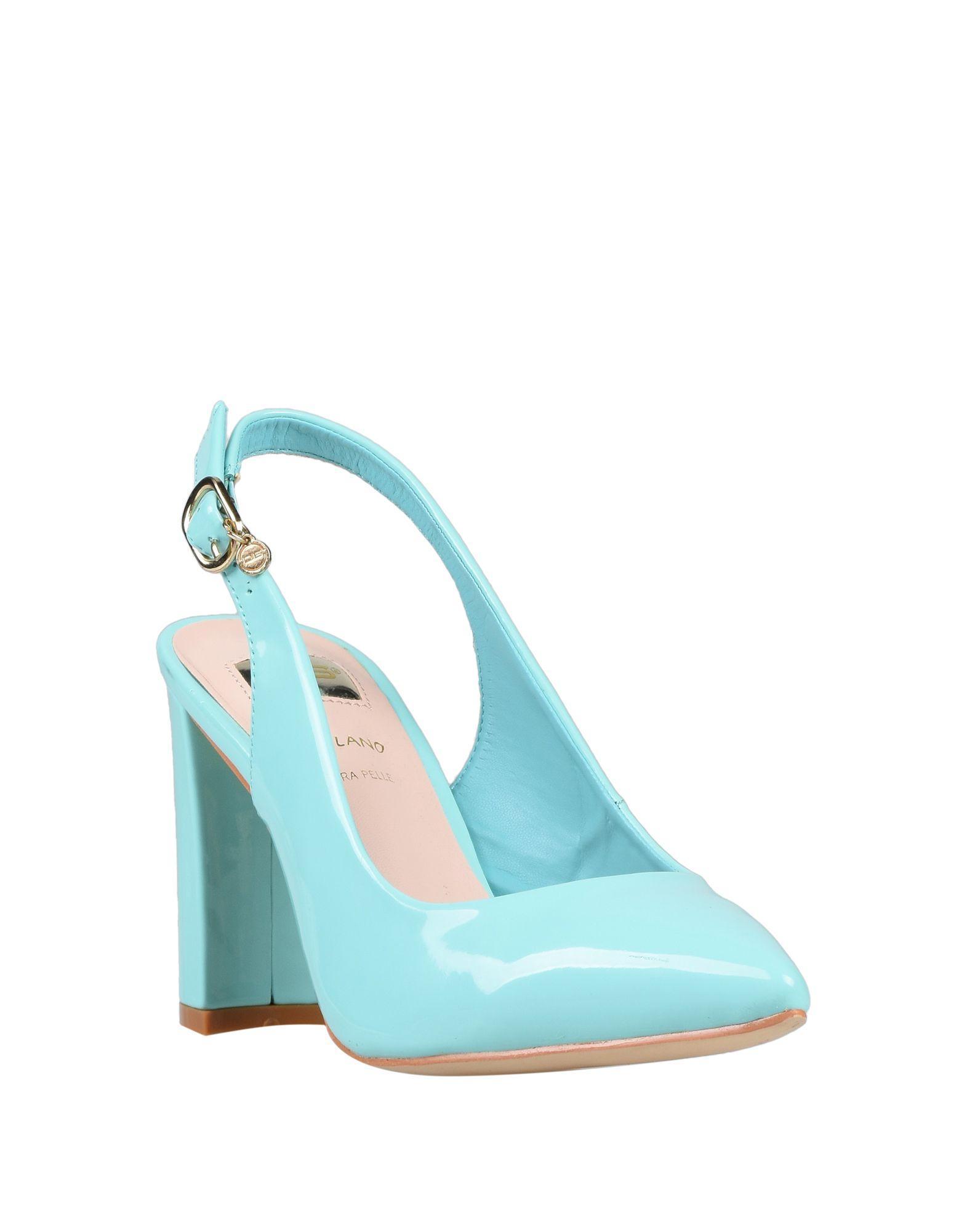 Zapatos de salón 06 Milano de color Azul