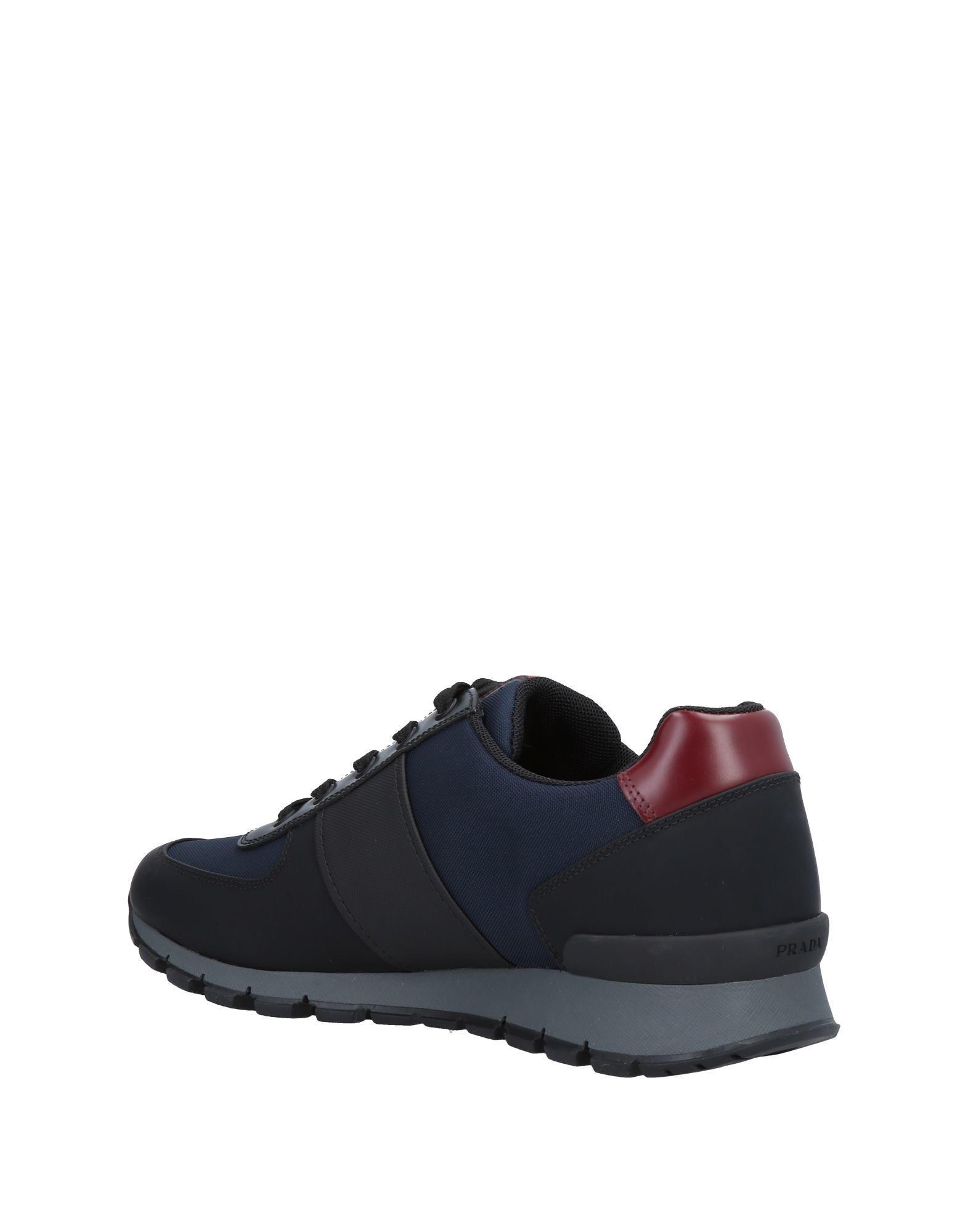 Prada Sport Rubber Low-tops & Sneakers in Dark Blue (Blue)