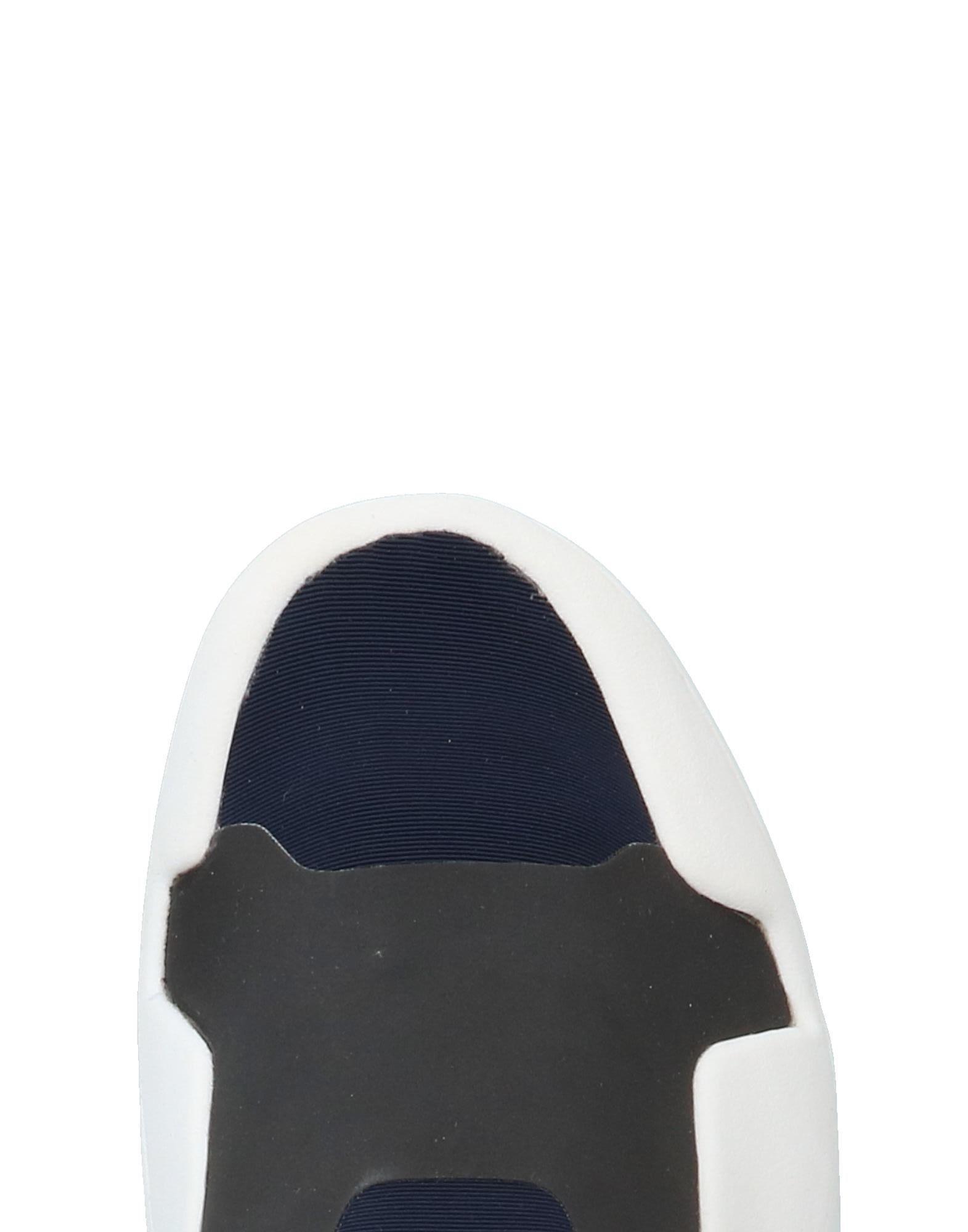 Y-3 Leather Low-tops & Sneakers in Dark Blue (Blue)