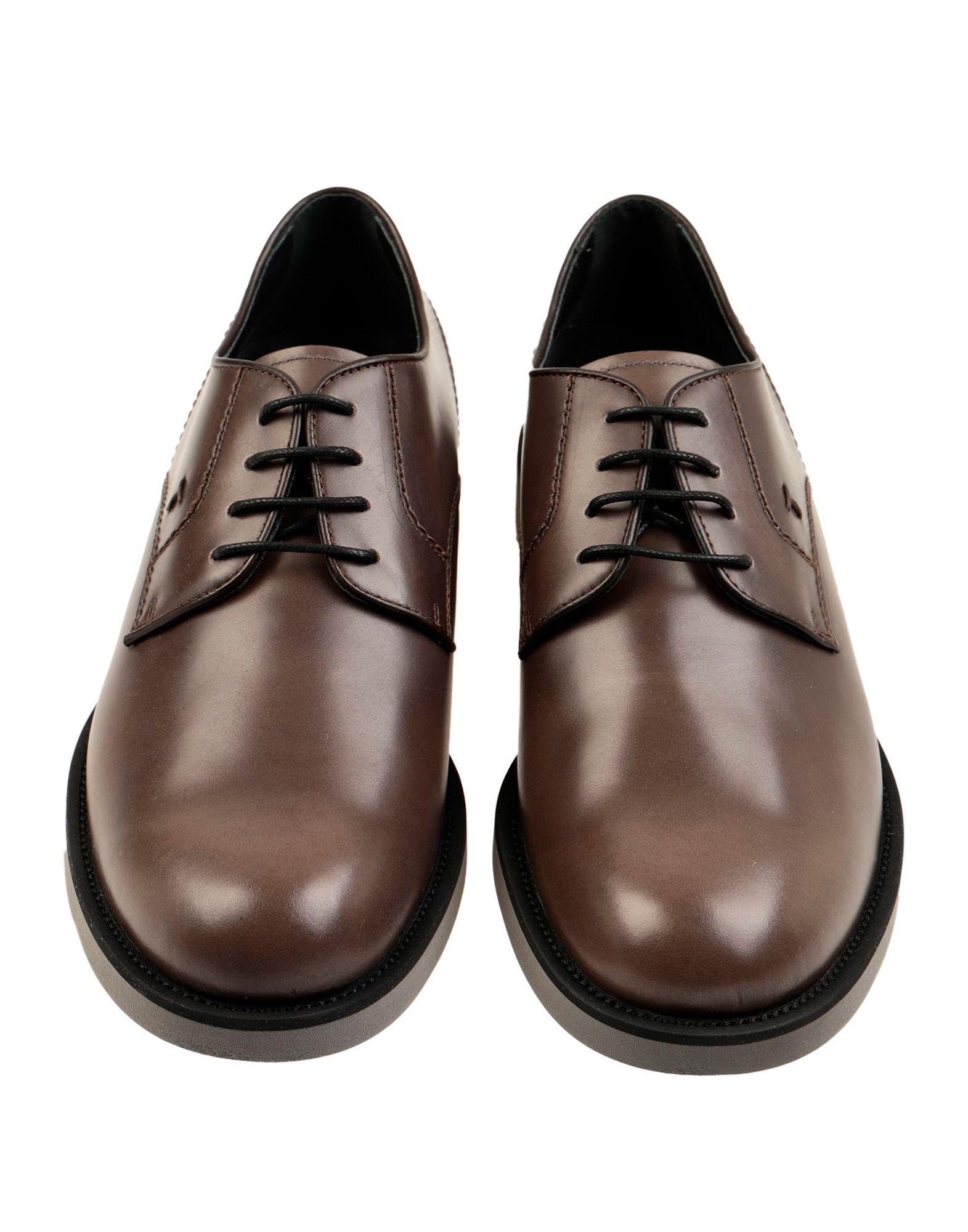 Zapatos de cordones Tod's de hombre de color Marrón