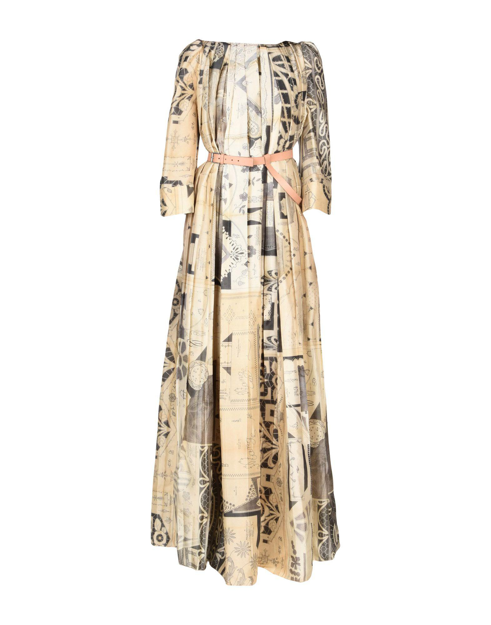 8811c86909 Lyst - Maison Margiela Long Dress in Natural