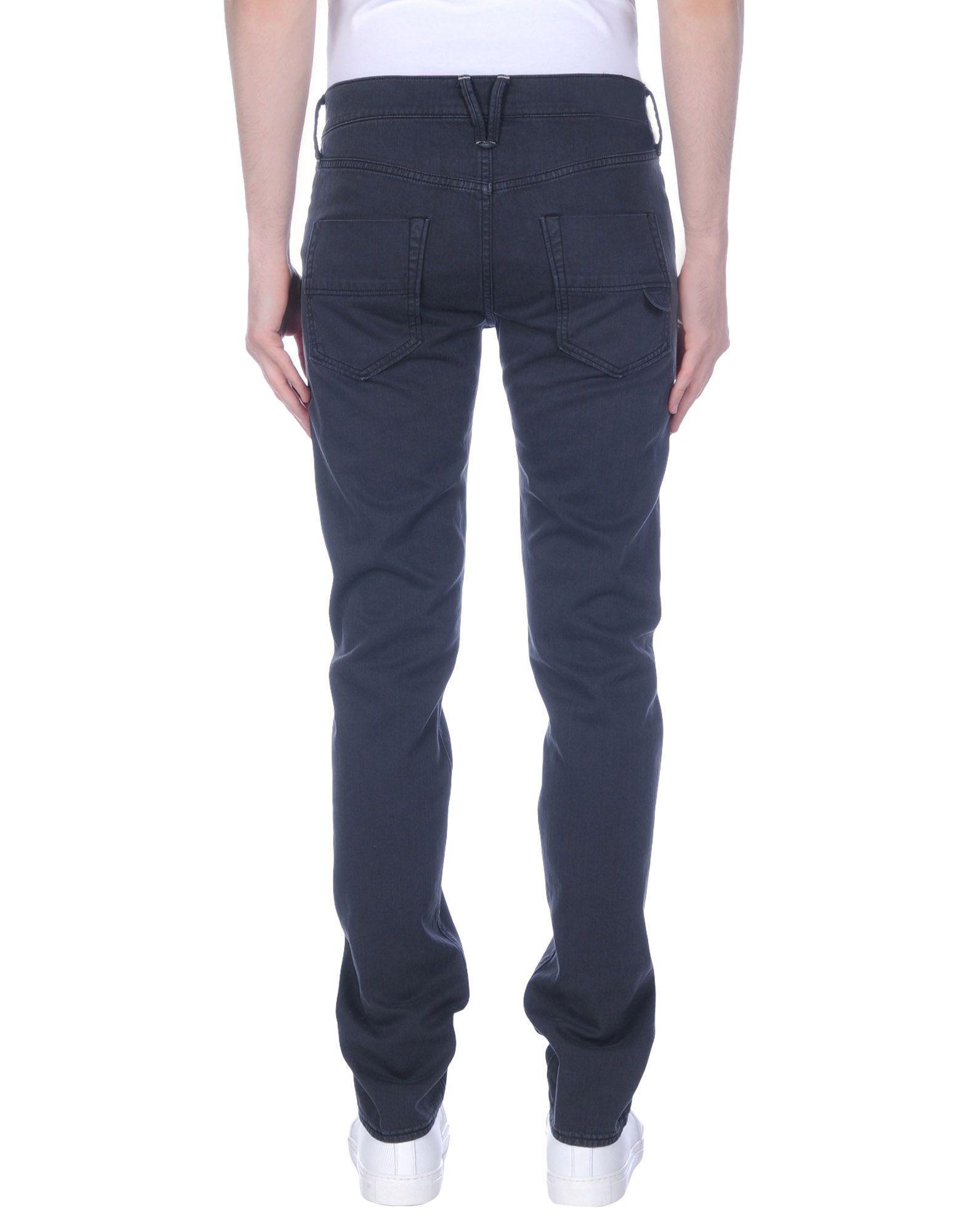 HTC Denim Pants in Black for Men