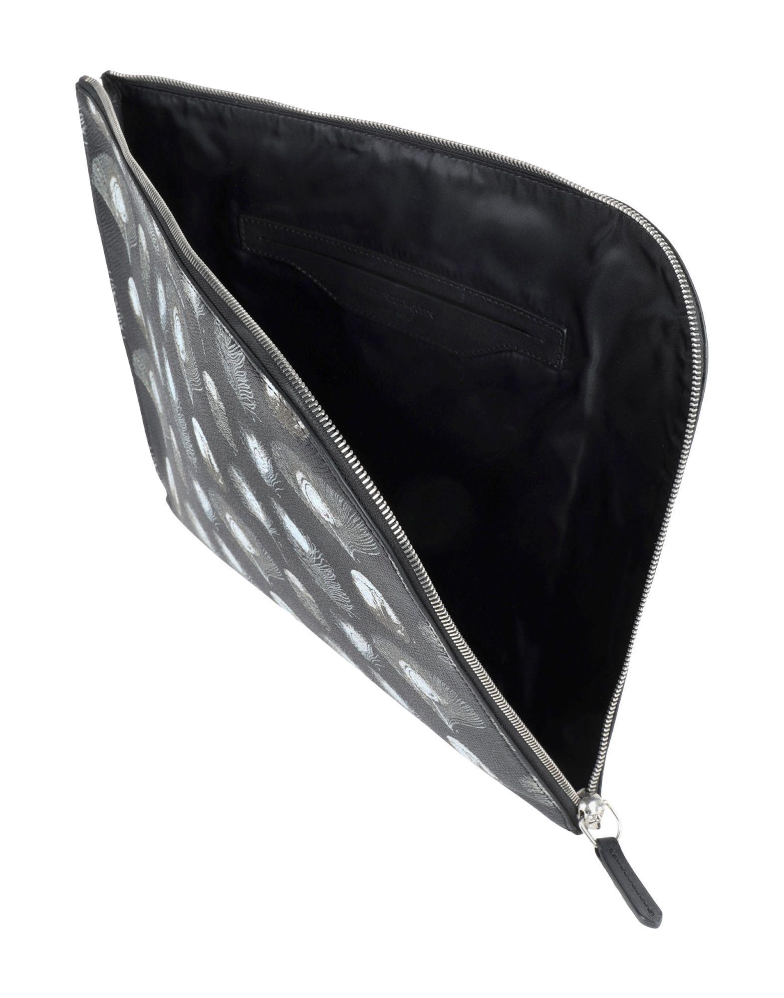 Sacs de travail Alexander McQueen pour homme en coloris Noir