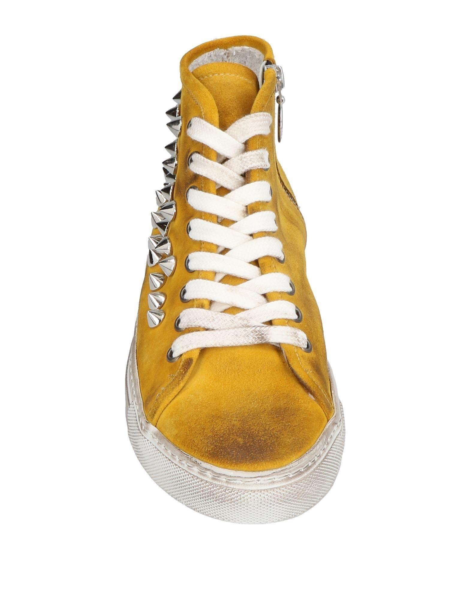Via Roma 15 Leather High-tops & Sneakers