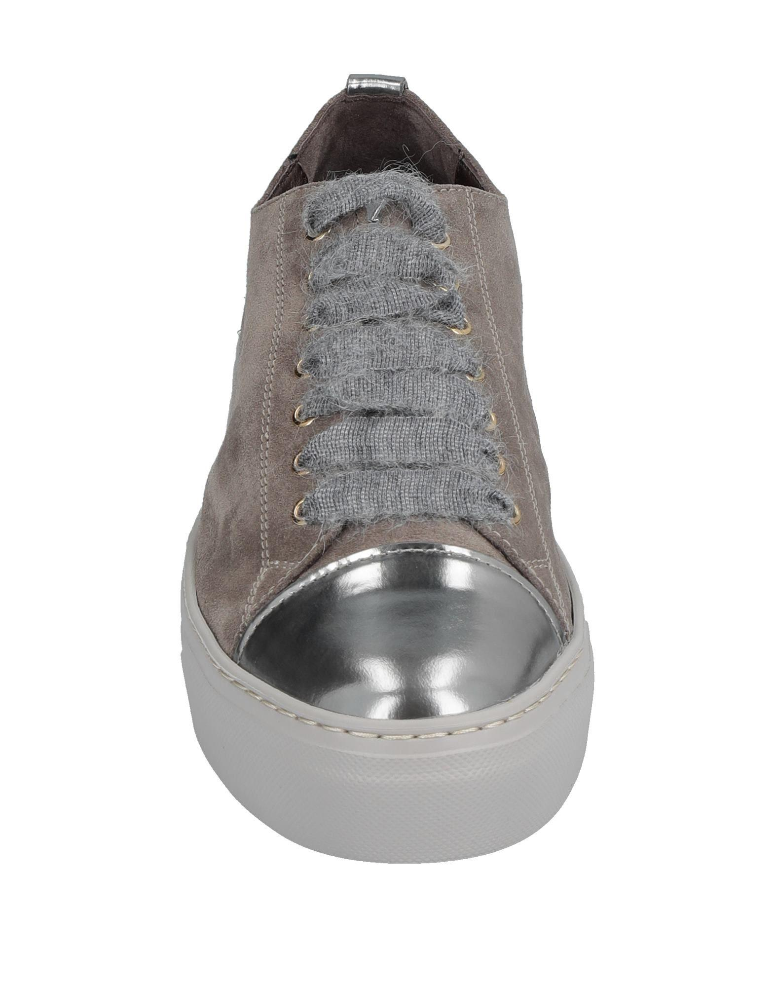 Agl Attilio Giusti Leombruni Suede Low-tops & Sneakers in Grey