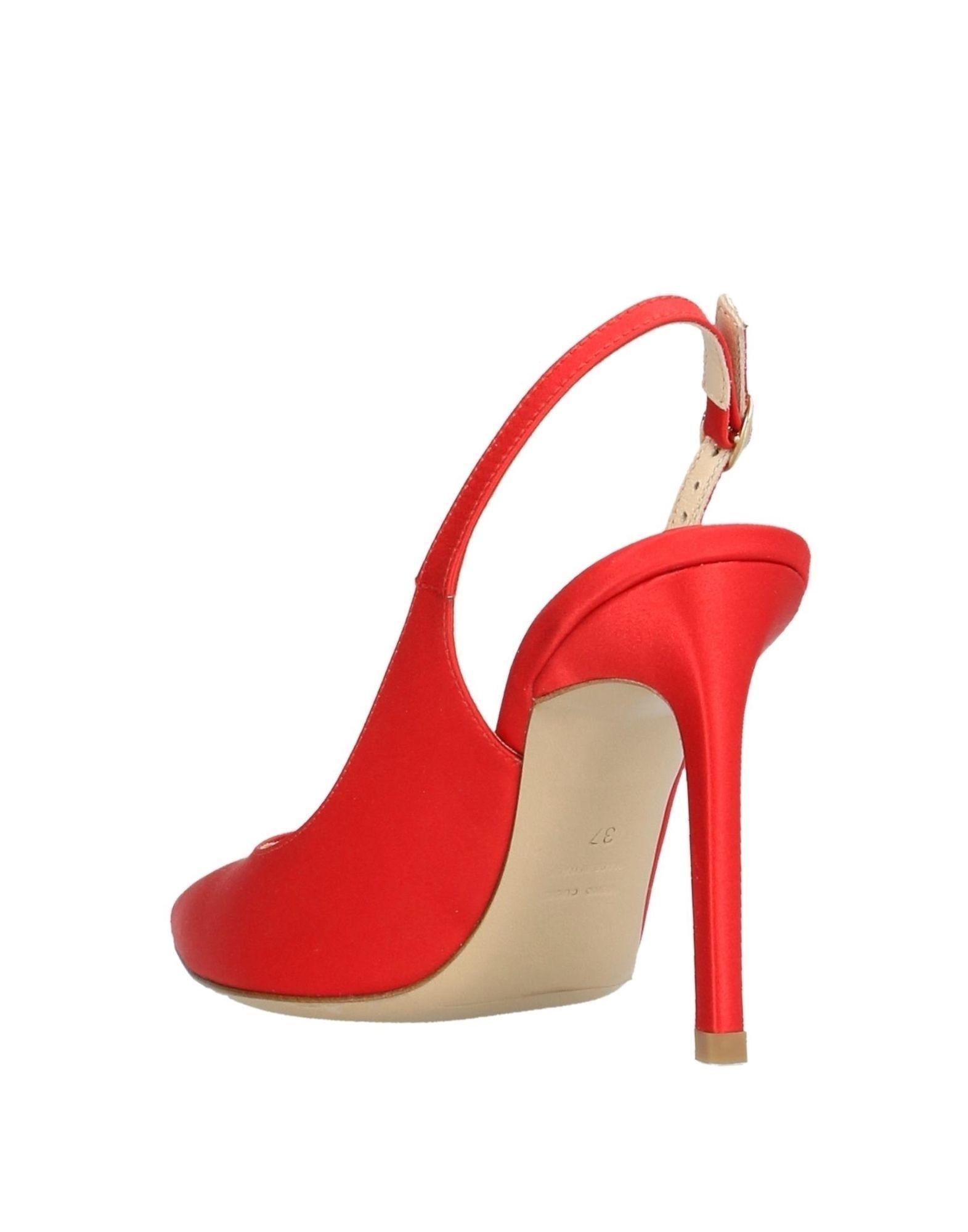 Zapatos de salón Roberto Festa de Raso de color Rojo