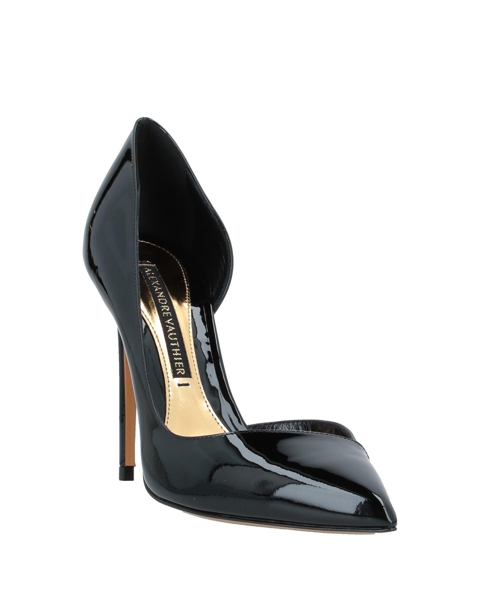 Zapatos de salón Alexandre Vauthier de Cuero de color Negro