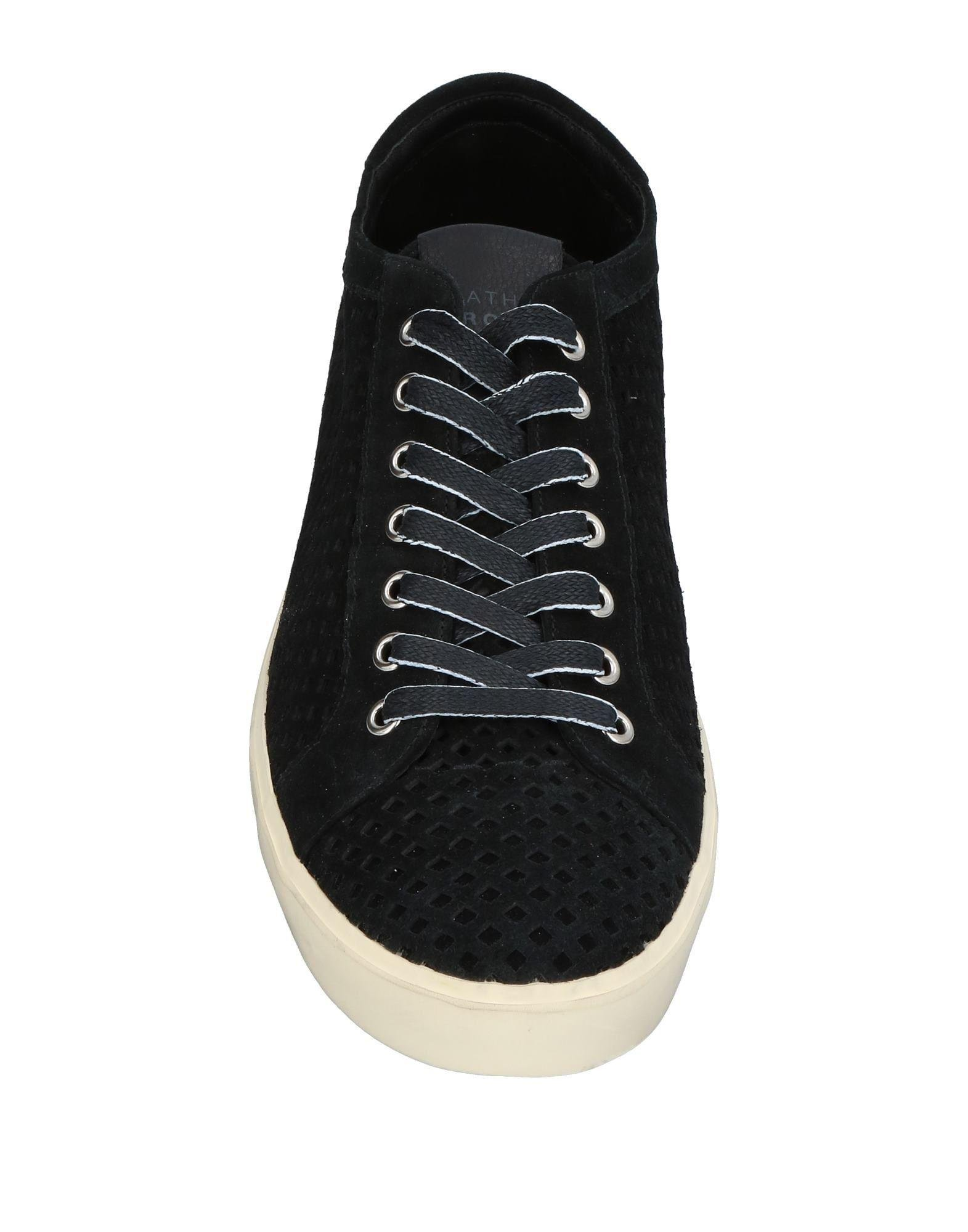 Leather Crown Suede Low-tops & Sneakers in Black for Men
