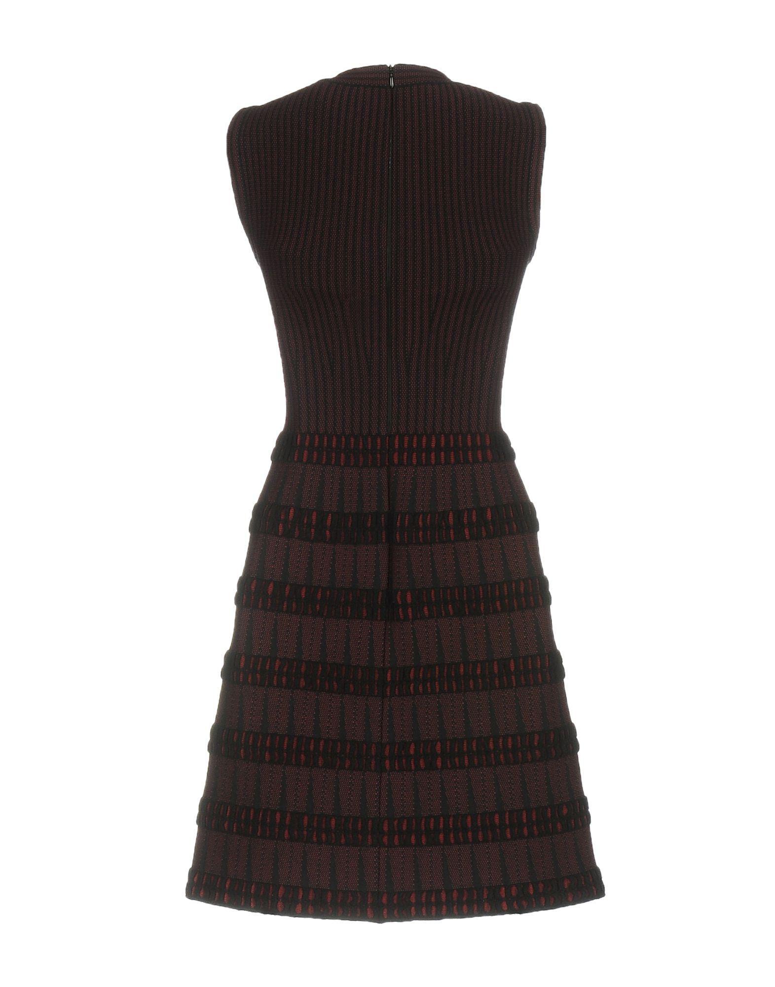 1e07dad29ab Lyst - Alaïa Short Dress in Black
