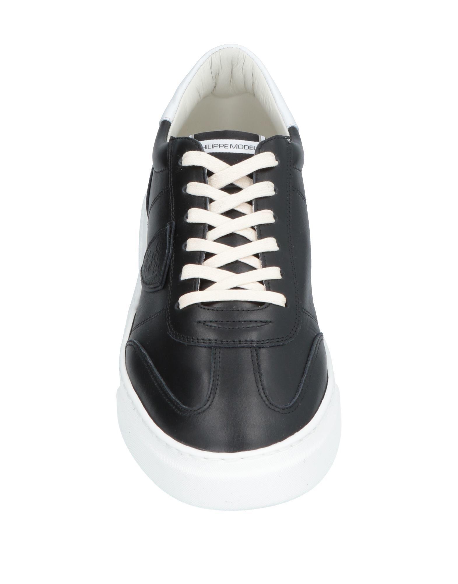 Sneakers & Deportivas Philippe Model de Cuero de color Negro para hombre