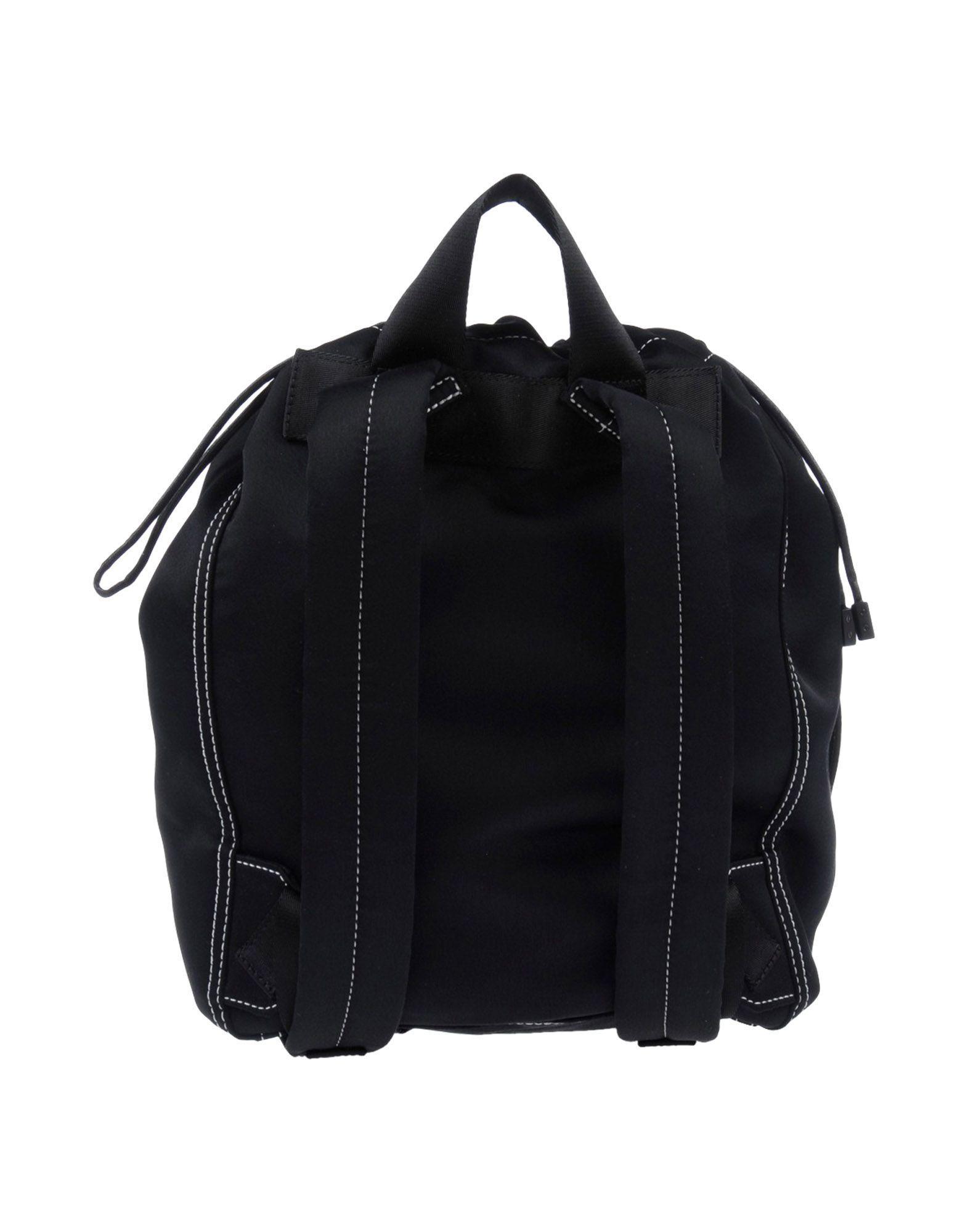 3.1 Phillip Lim Satin Backpacks & Fanny Packs in Black