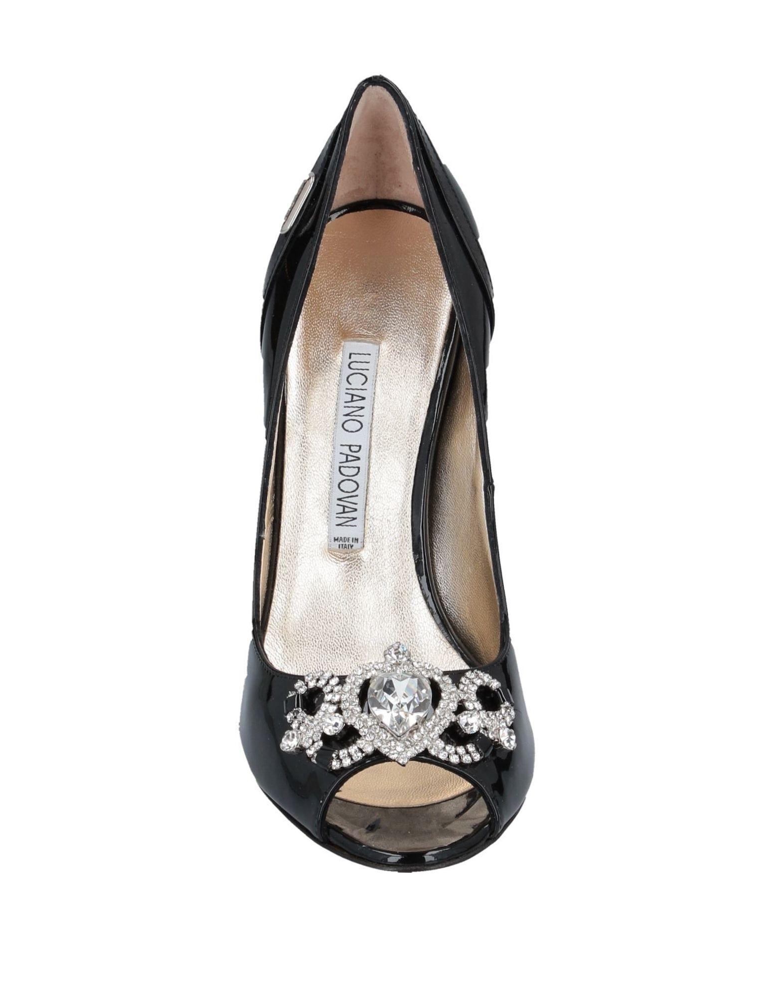 Zapatos de salón Luciano Padovan de Cuero de color Negro