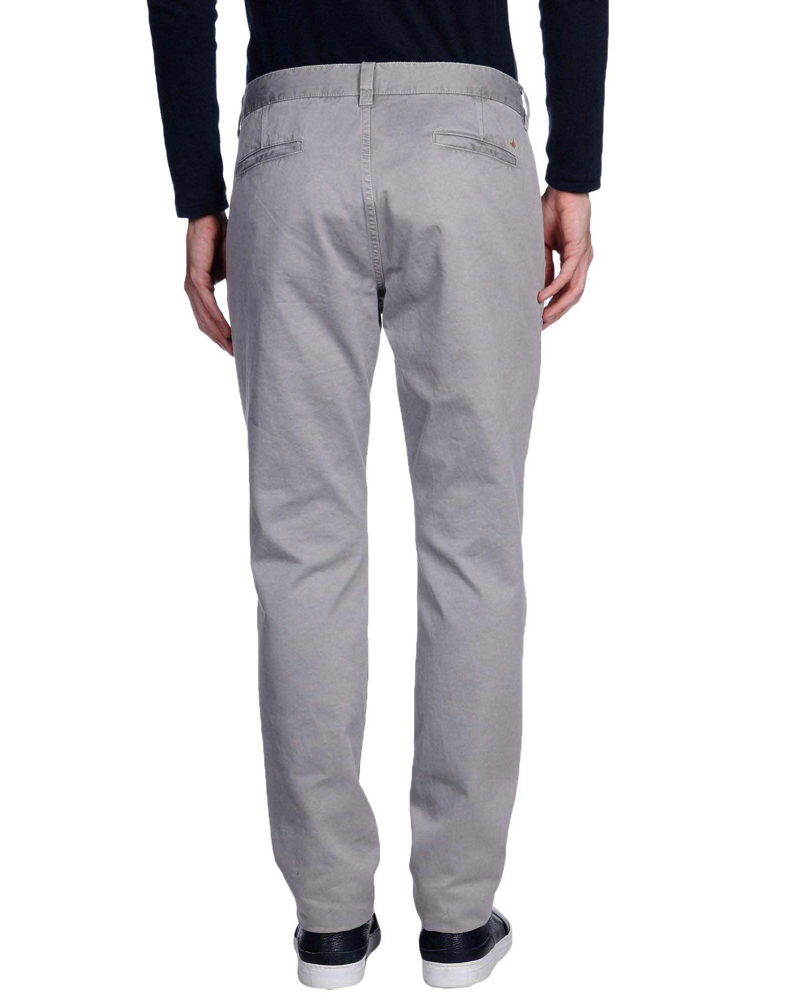 AT.P.CO Leather Casual Trouser in Grey (Grey) for Men