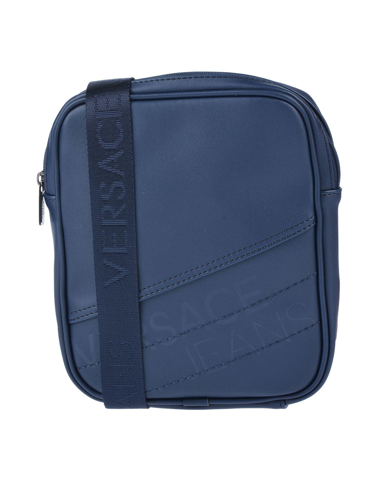 Versace Jeans Cross-body Bag in Blue for Men - Lyst c44fe33b252f6
