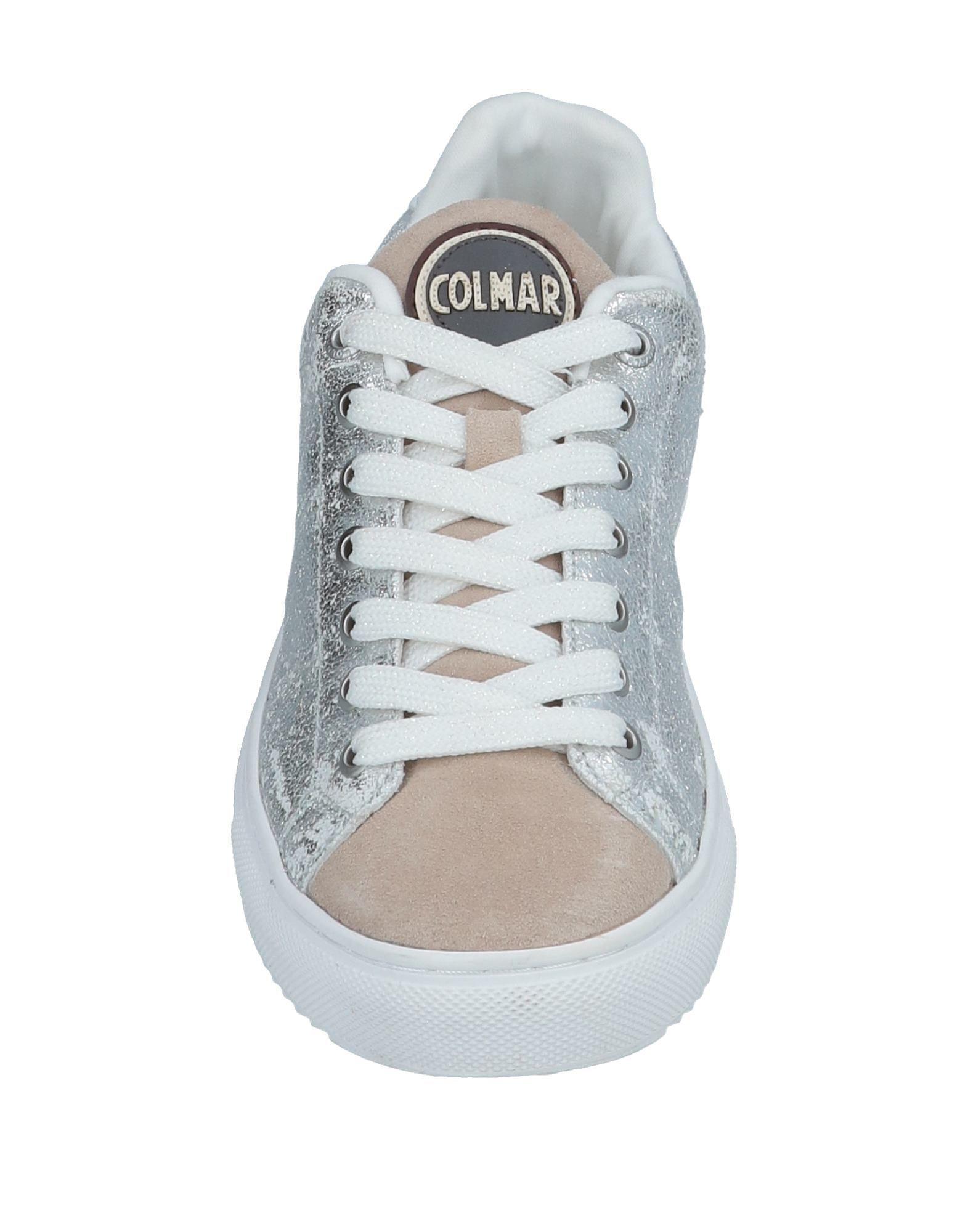 Colmar Rubber Low-tops & Sneakers in Silver (Metallic)