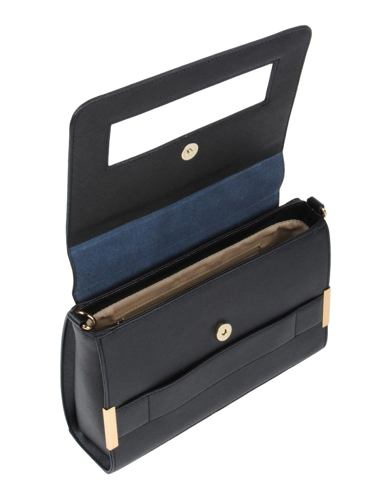 Stefanel Leather Cross-body Bag in Black