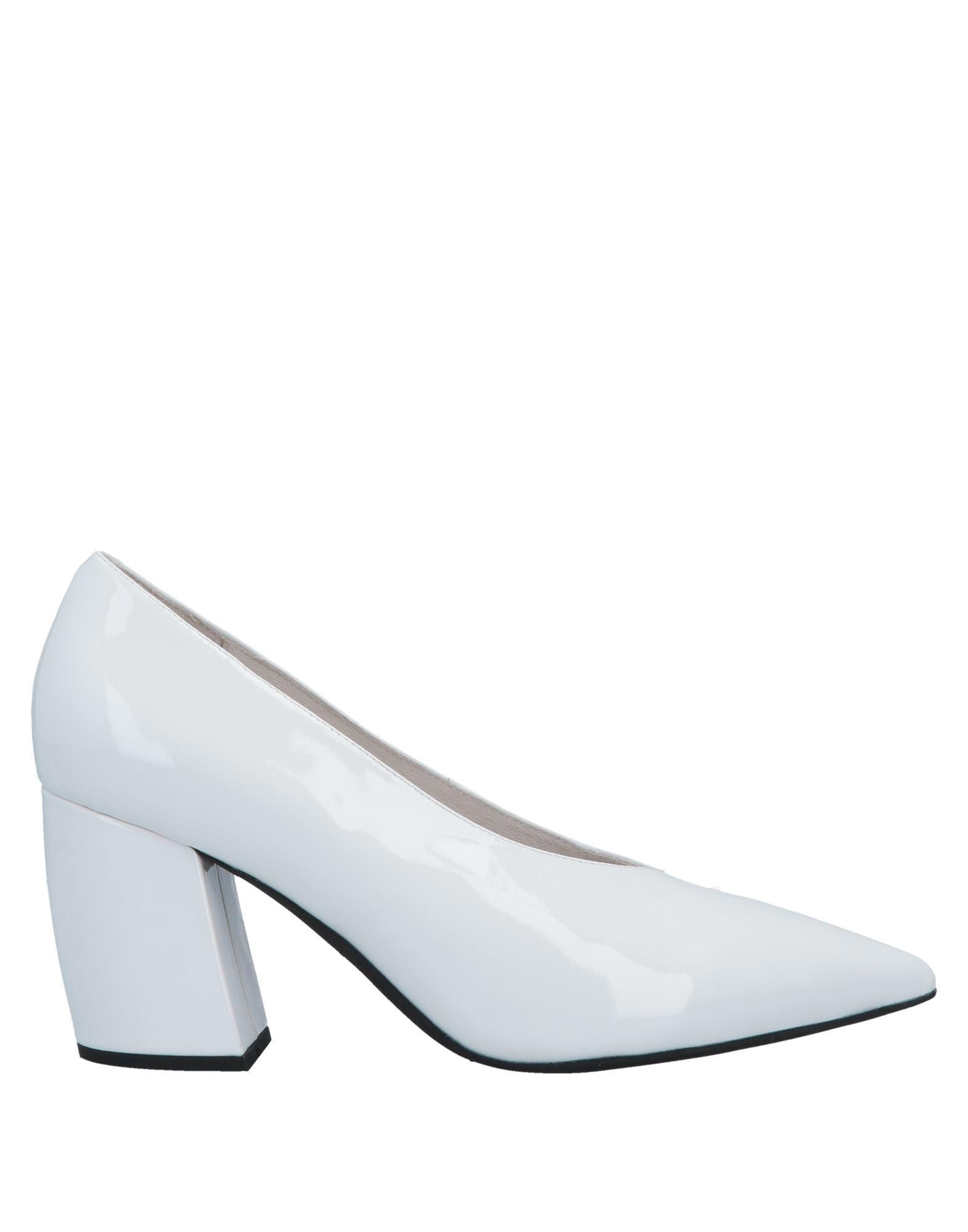 Jeffrey Campbell Leather Court in White