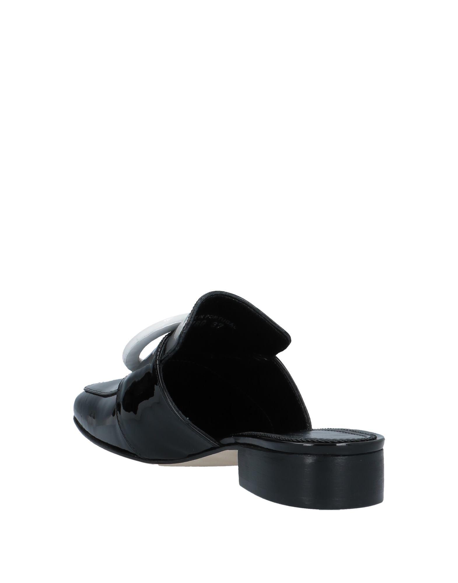 Mules & Zuecos Dorateymur de Cuero de color Negro