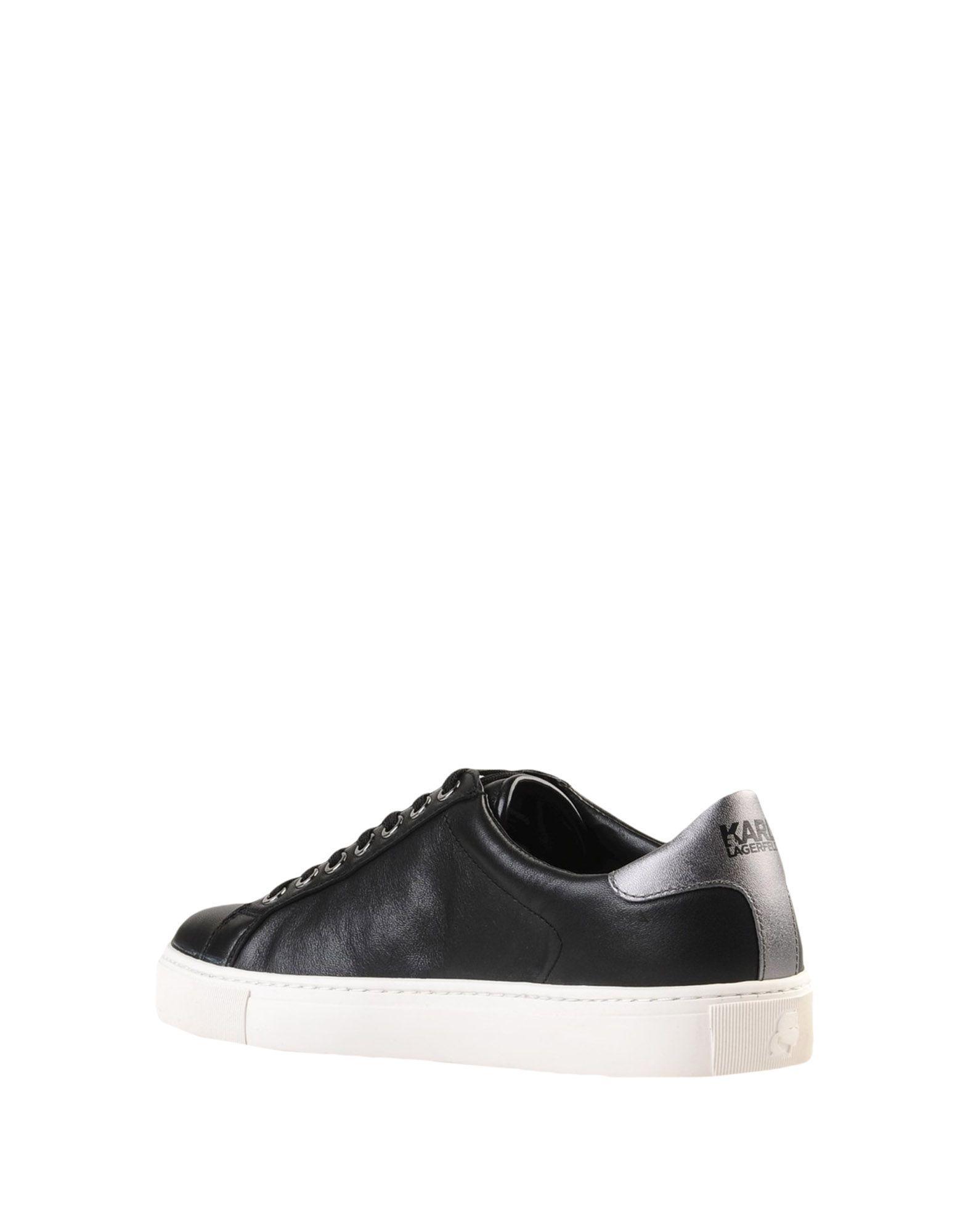Sneakers & Deportivas Karl Lagerfeld de Caucho de color Negro: ahorra un 23 %