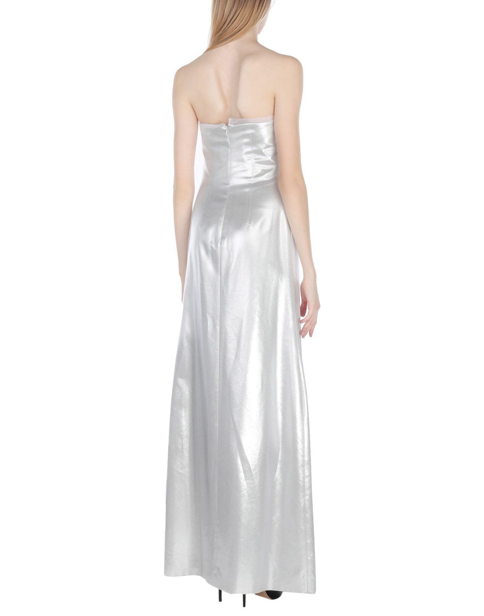 Vestido largo Genny de color Blanco