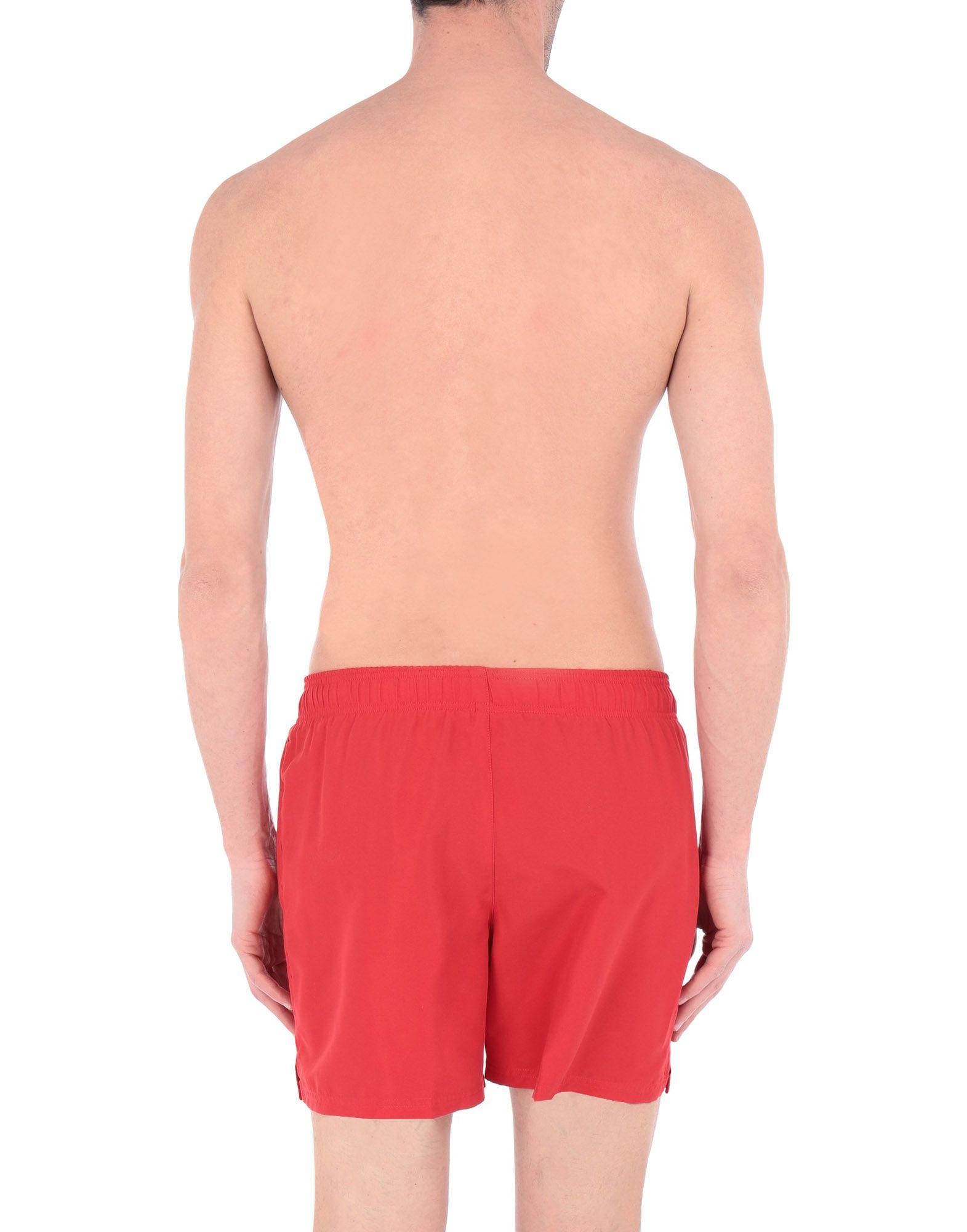 1e811f3271 Lyst - Nike Swim Trunks in Red for Men