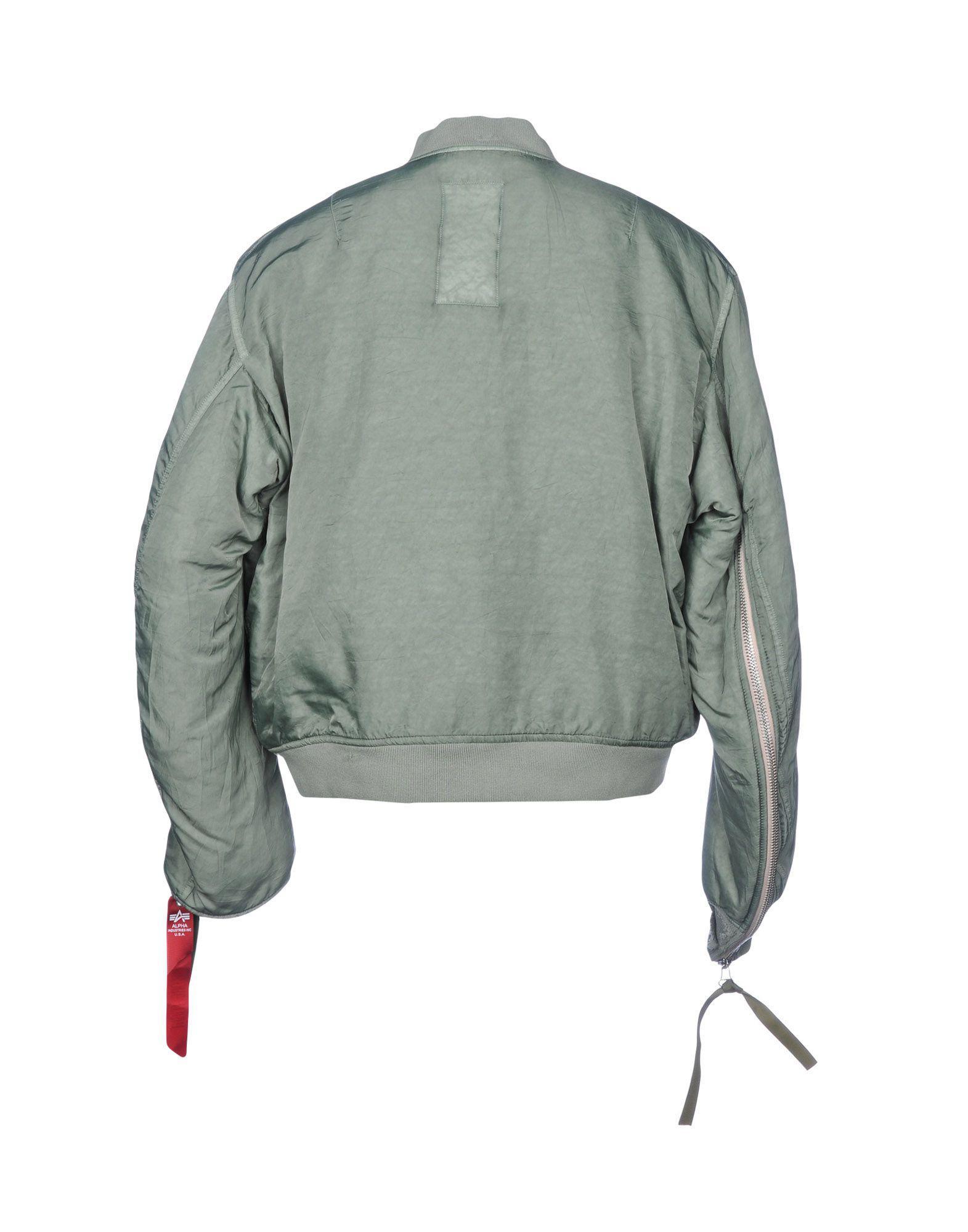 Alpha Industries Synthetic Down Jacket in Deep Jade (Green) for Men