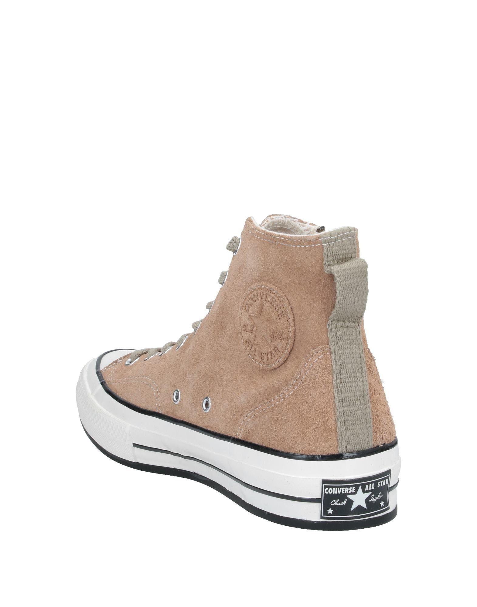 Sneakers abotinadas Converse de Ante de color Neutro para hombre