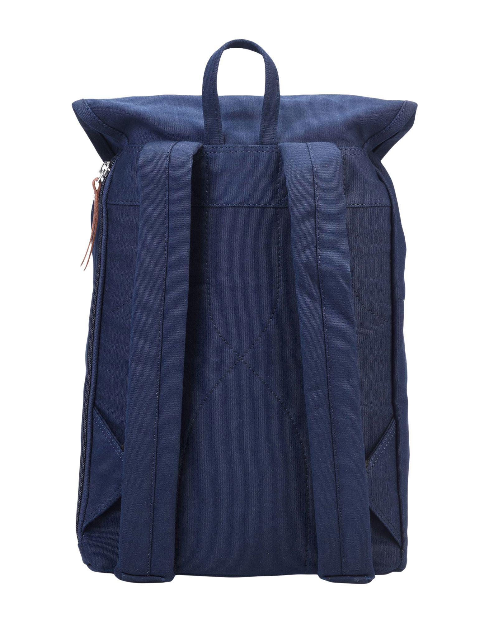 Sandqvist Canvas Backpacks & Fanny Packs in Dark Blue (Blue)