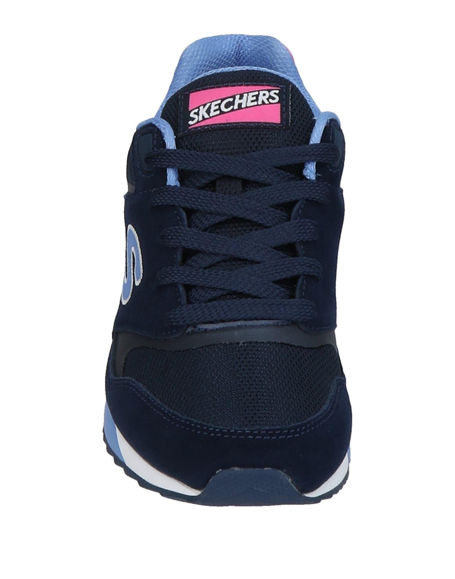 Skechers Suede Low-tops & Sneakers in Dark Blue (Blue)