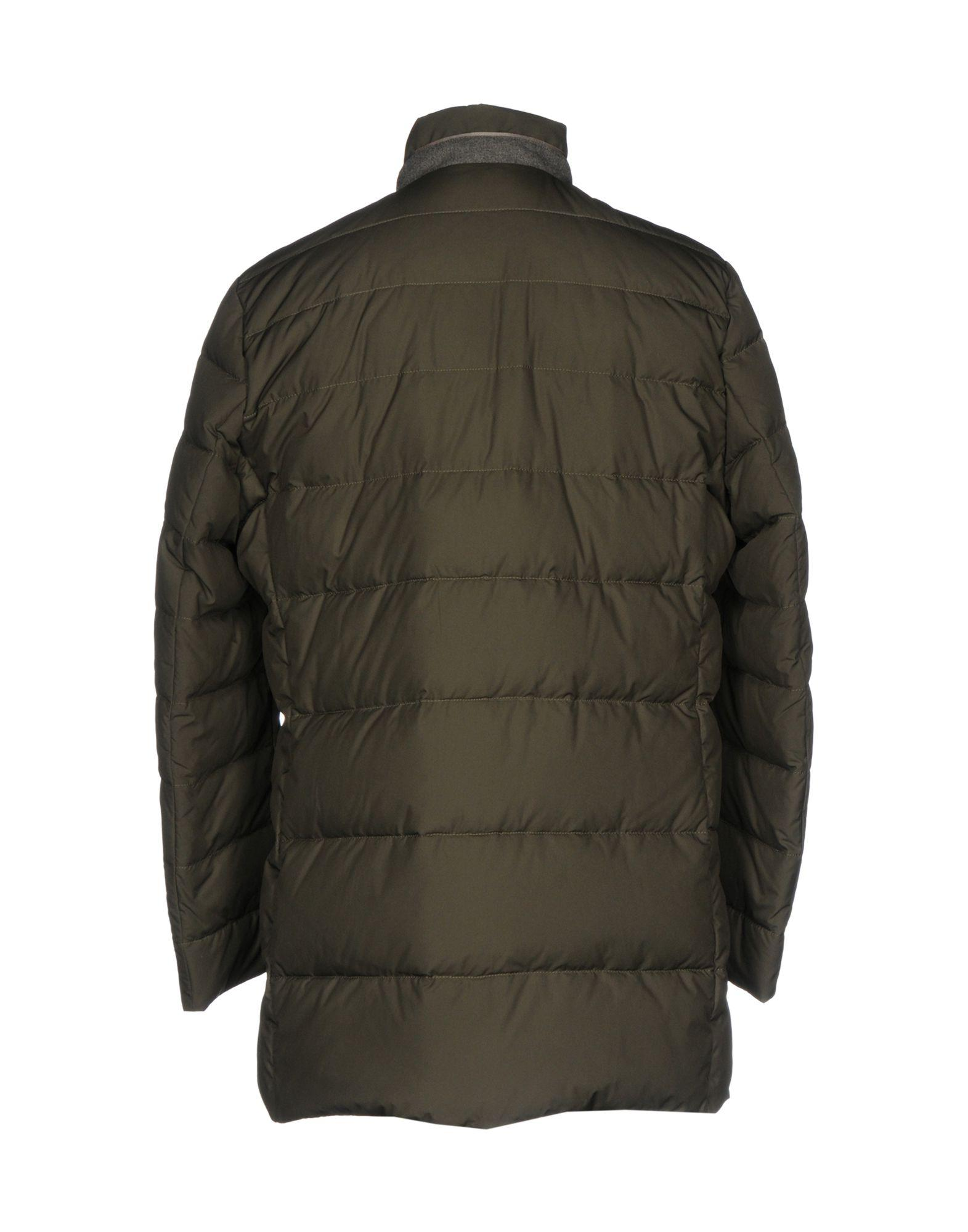 Schneiders Goose Down Jacket in Military Green (Green) for Men