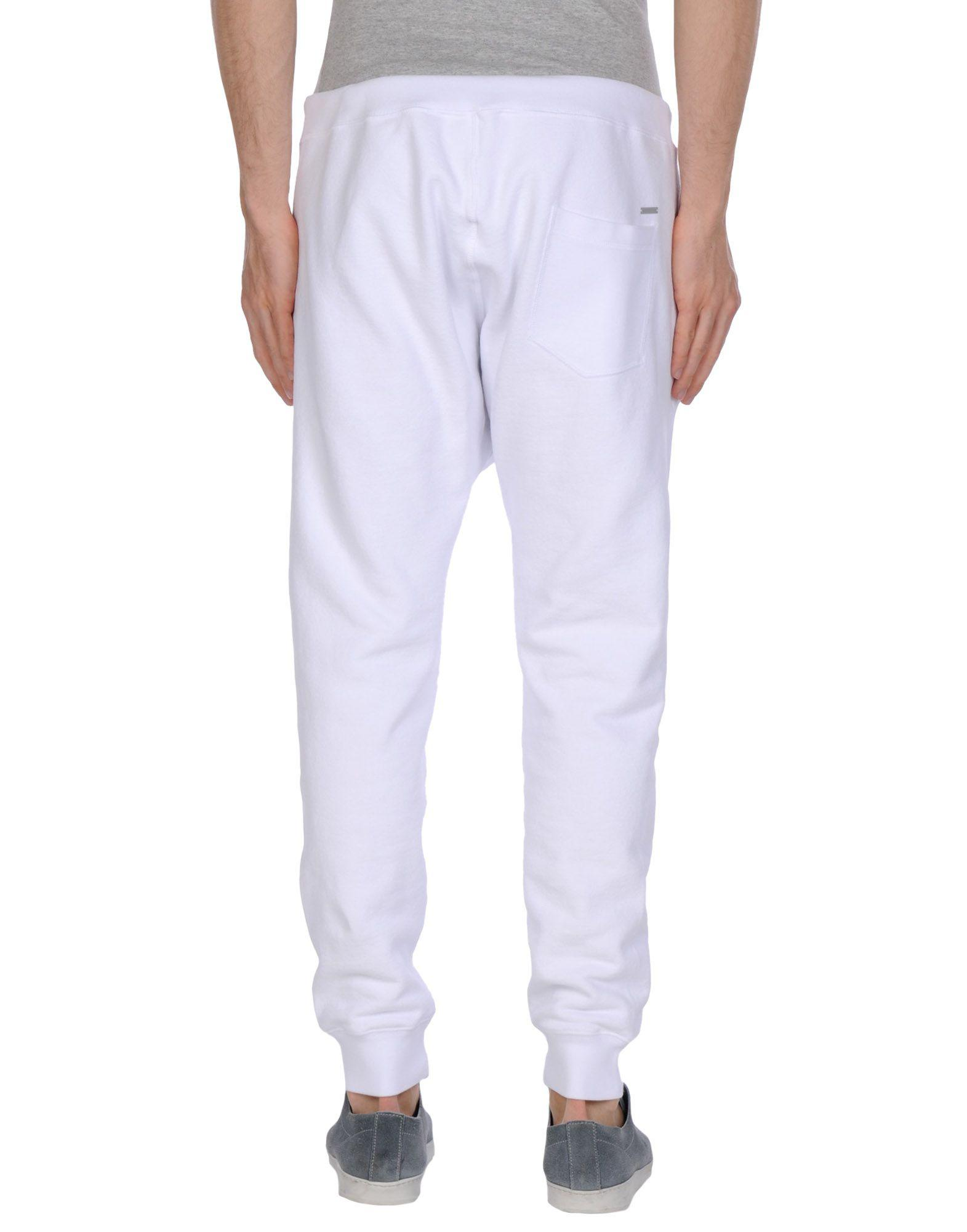 DSquared² Casual Trouser in White for Men