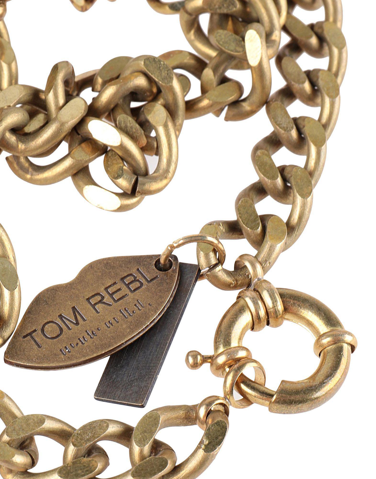 Tom Rebl Necklace in Bronze (Metallic) for Men