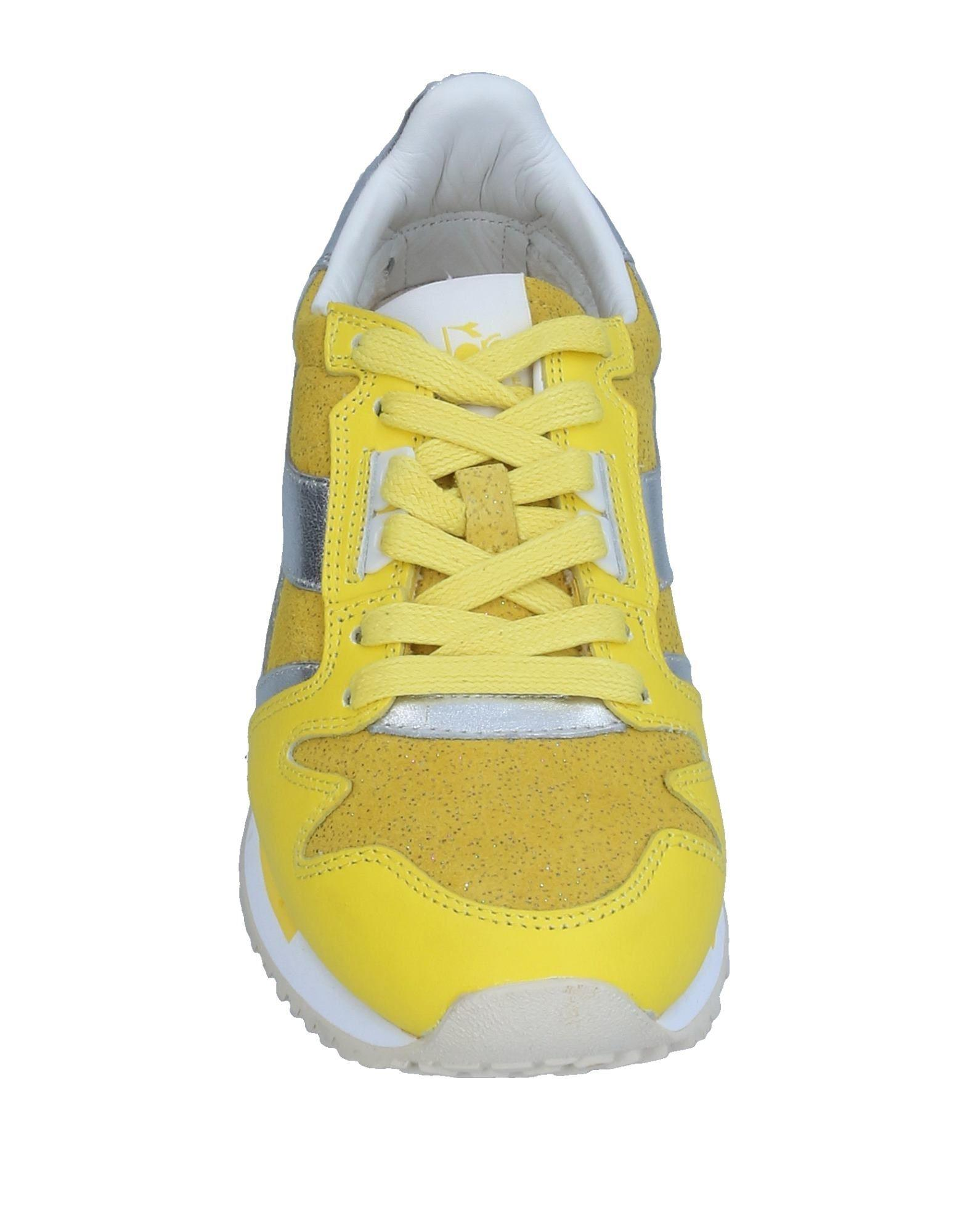 Diadora Leather Low-tops & Sneakers in Yellow