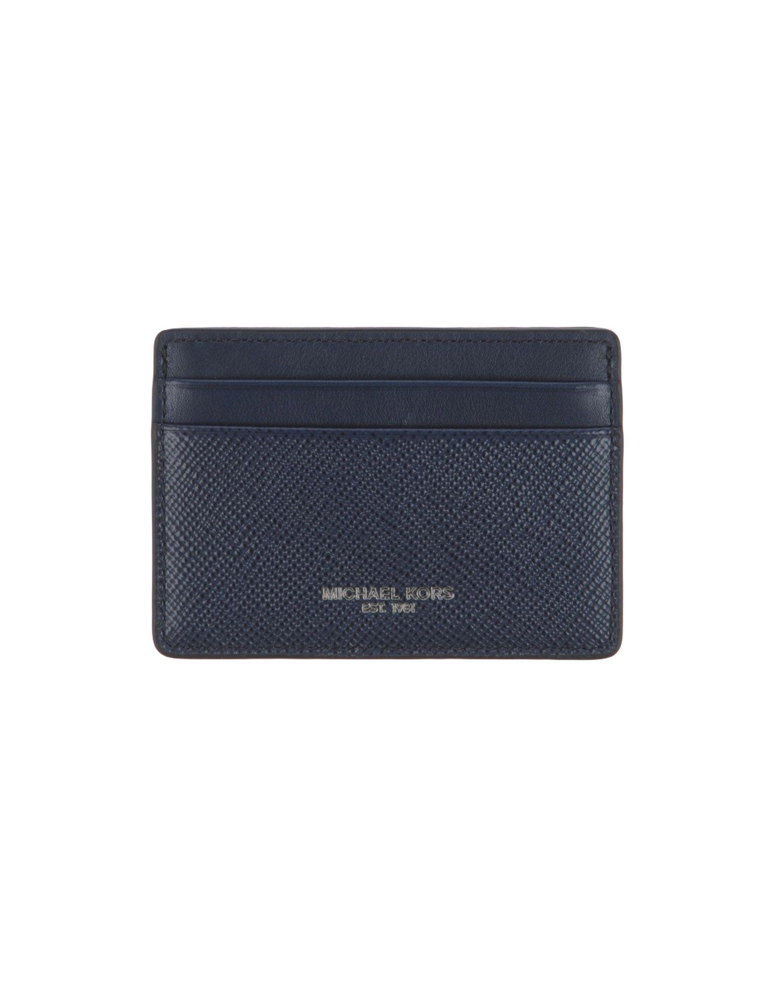 2f5e7c184565 Lyst - Michael Kors Document Holder in Blue for Men