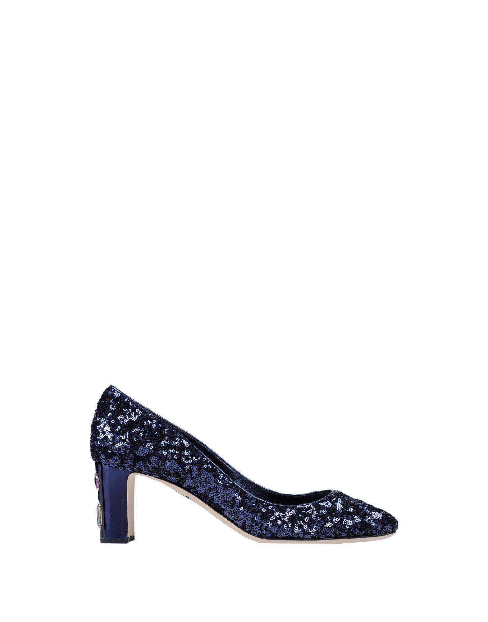 Zapatos de salón Dolce & Gabbana de Cuero de color Azul