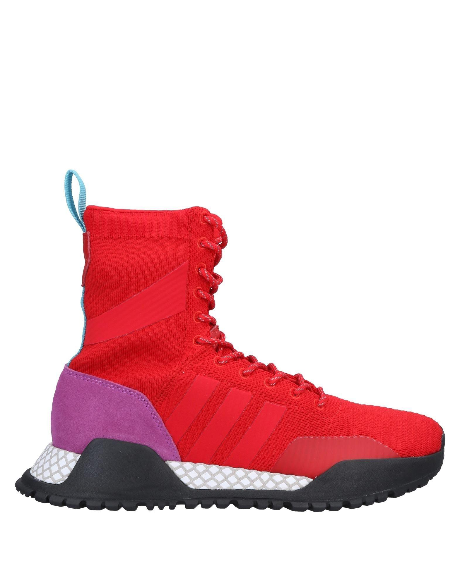 b7e4f8a1dc65 Sneakers Red Men Originals Adidas In amp; Tops High For Lyst WTvHwqW