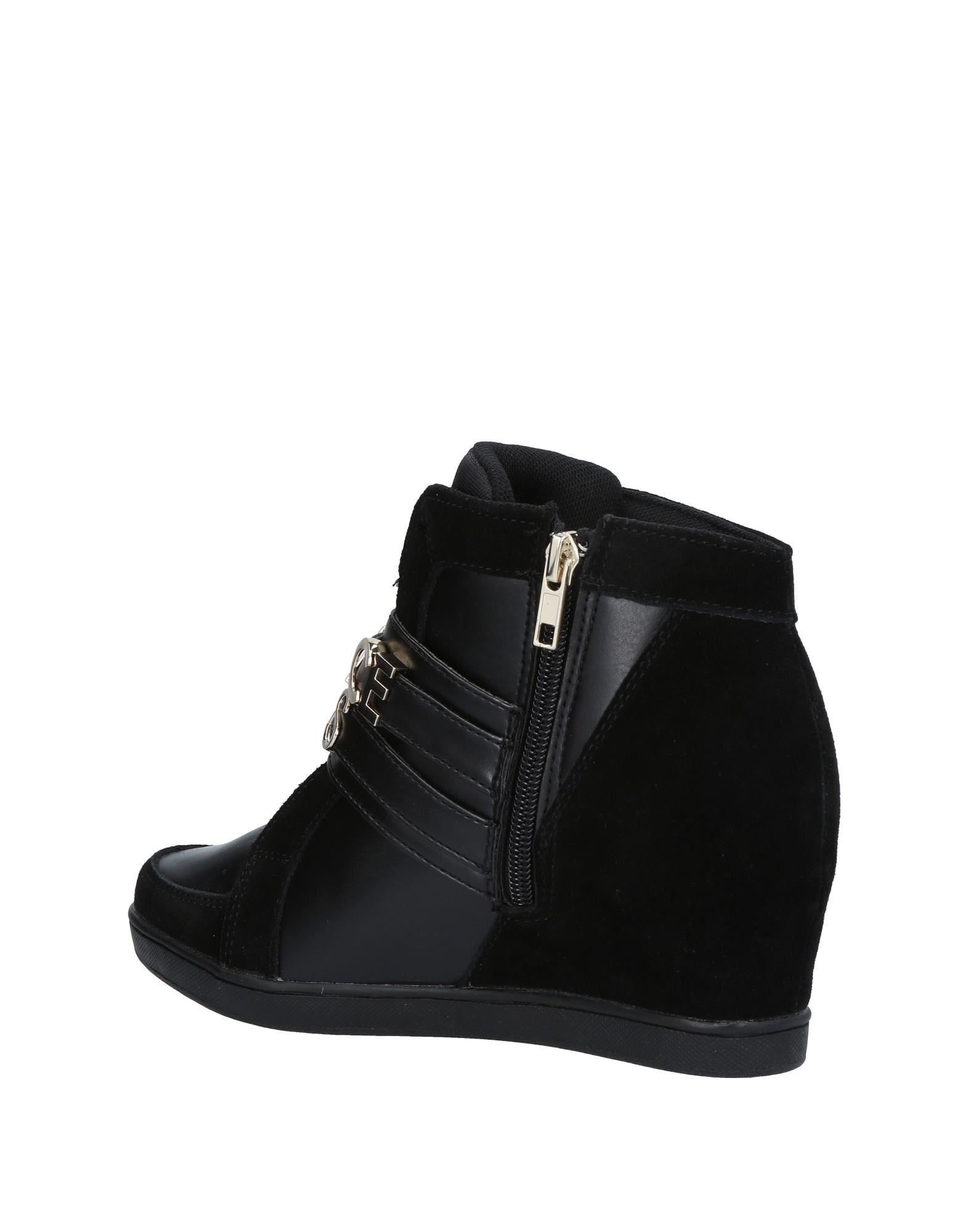 Versace Jeans Couture Suede High-tops & Sneakers in Black
