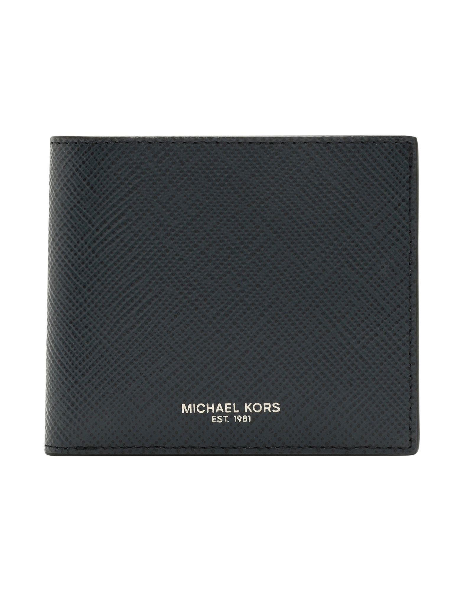aa54676611d0 Michael Kors Wallet in Blue for Men - Lyst