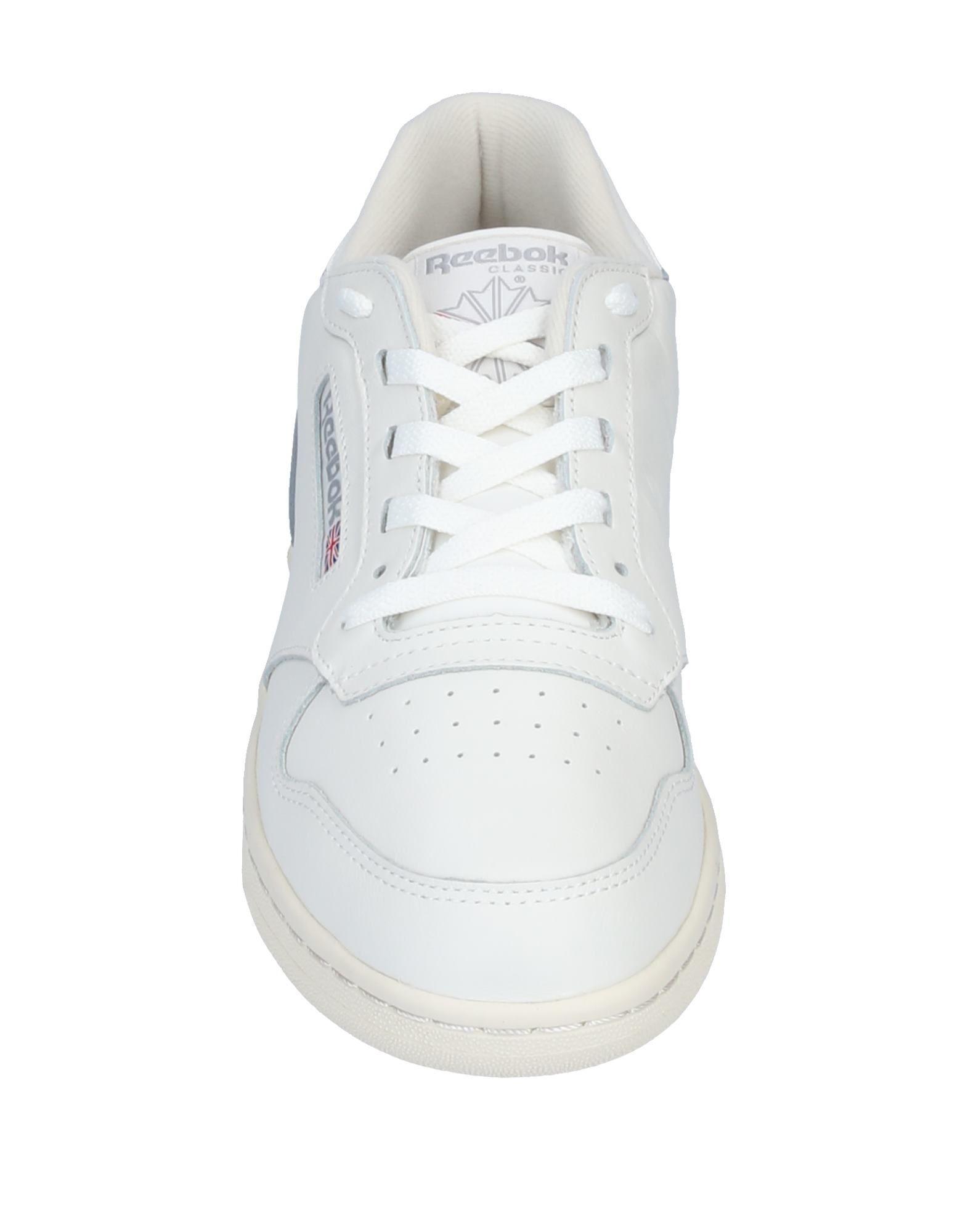 Sneakers & Deportivas Reebok de Cuero de color Gris para hombre