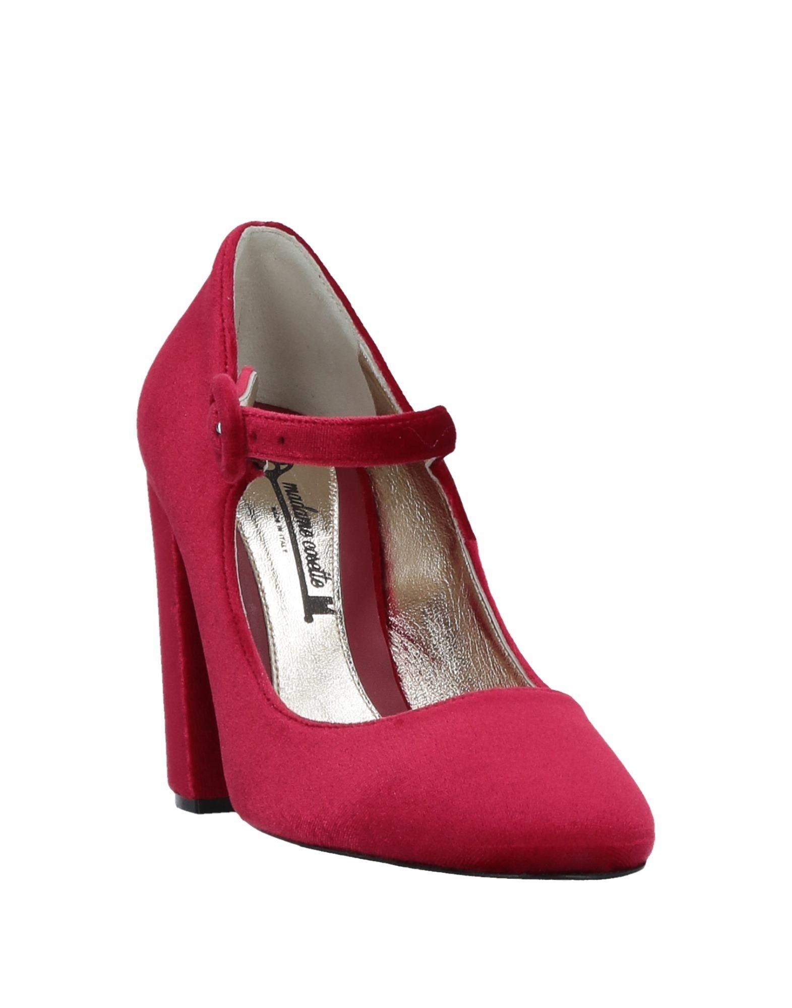 Lyst - Madame Cosette Pump in Red c8afdfcd66f