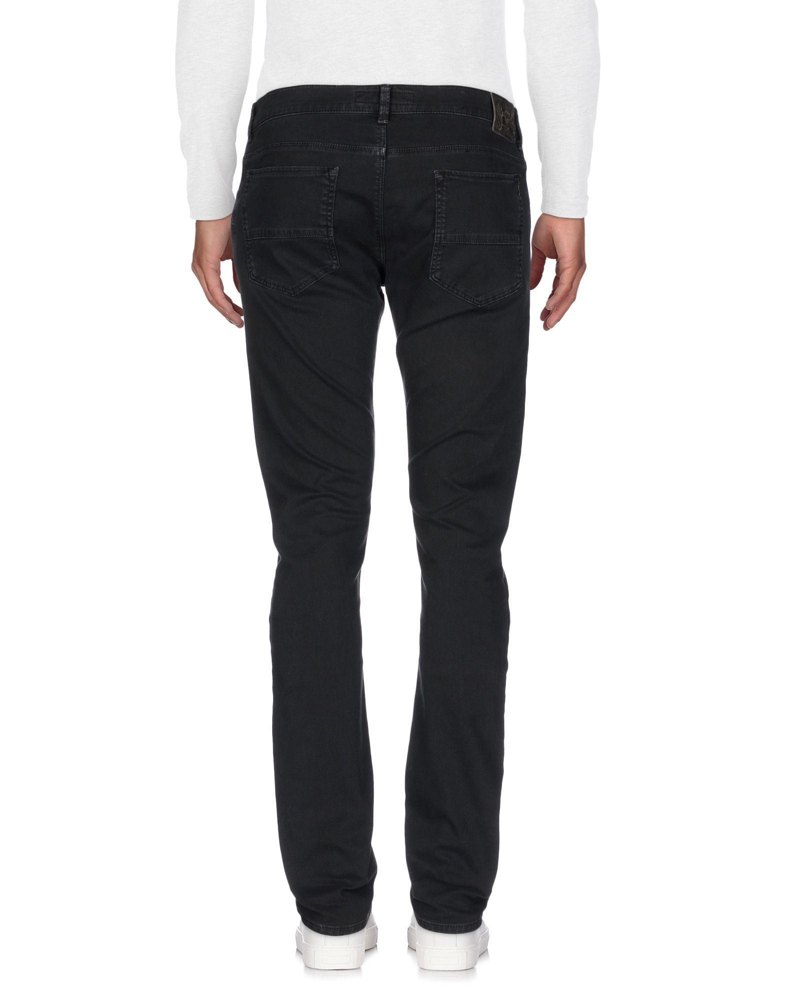 Trussardi Denim Trousers in Steel Grey (Grey) for Men