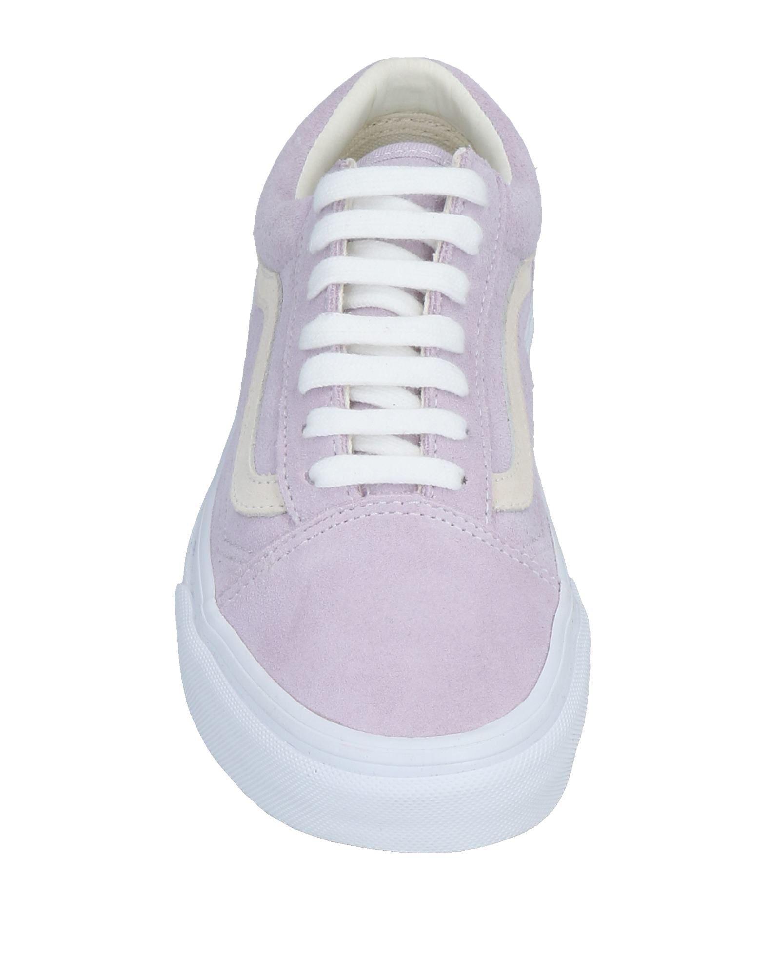 Vans Suede Low-tops & Sneakers in Lilac (Purple)