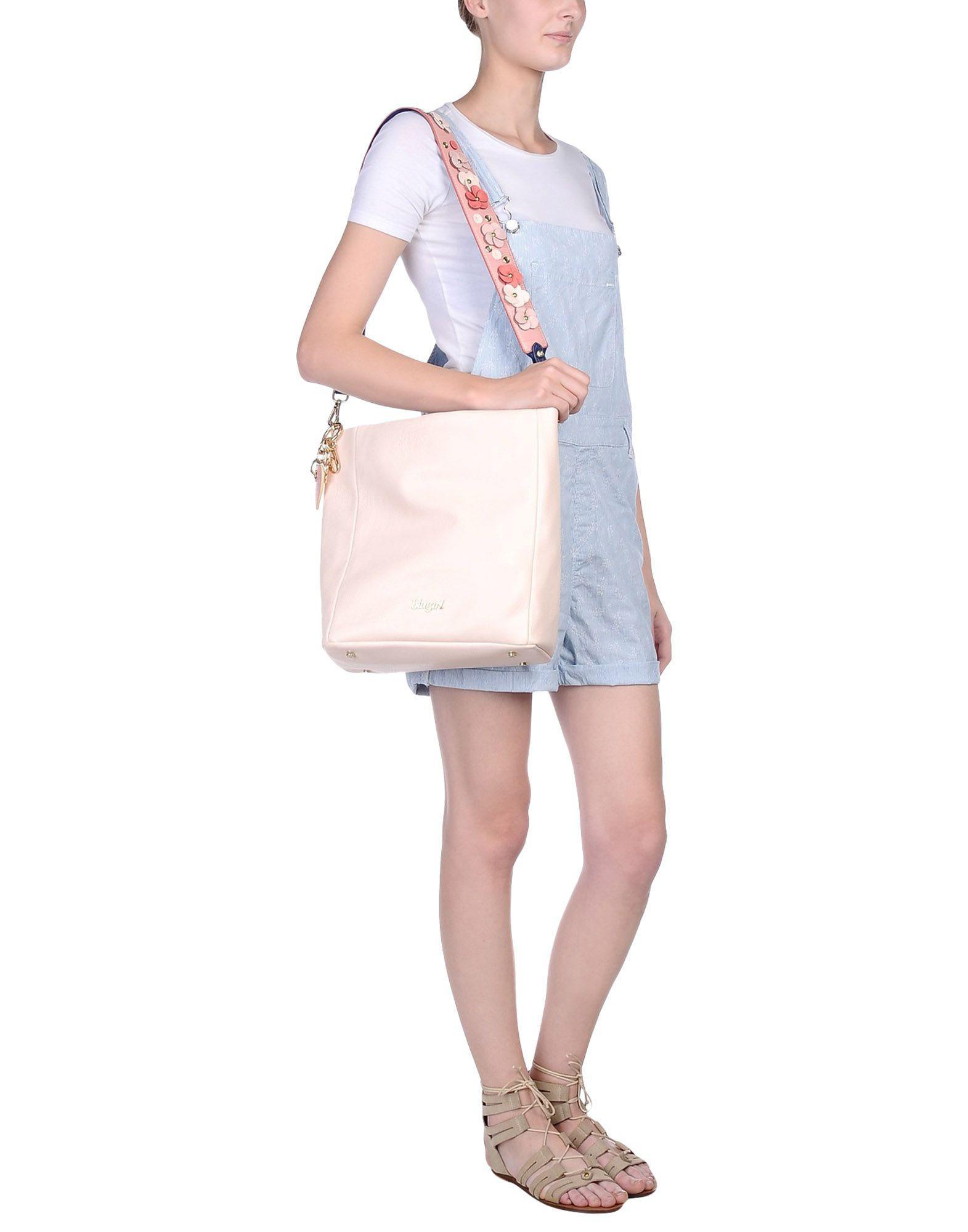 Blugirl Blumarine Cross-body Bag in Light Pink (Pink)