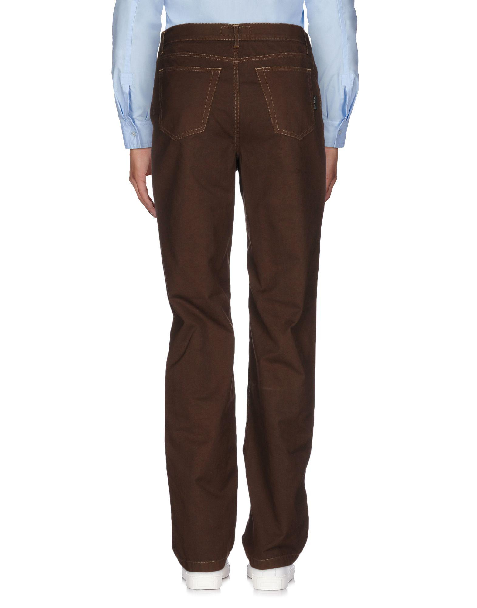 Fred Perry Cotton Casual Pants in Cocoa (Blue) for Men