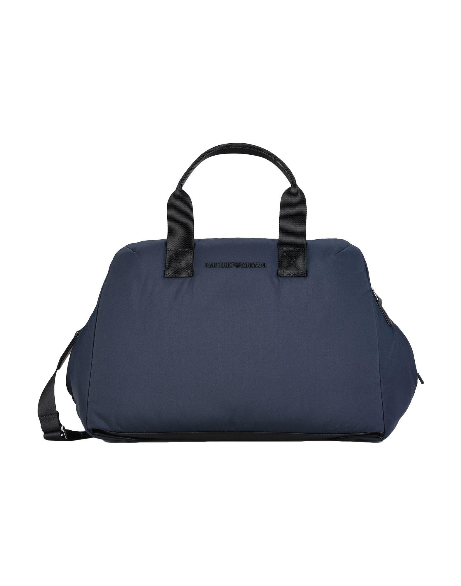 2800d864fbfc7 Lyst - Sac de voyage Emporio Armani pour homme en coloris Bleu
